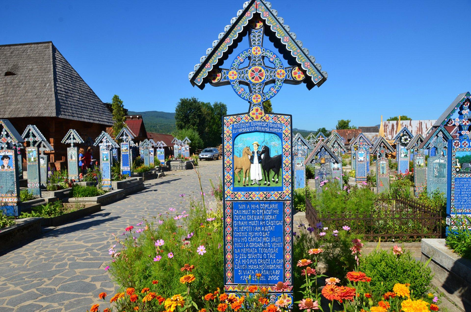 Merry Cemetery in Romania - Best Season 2019