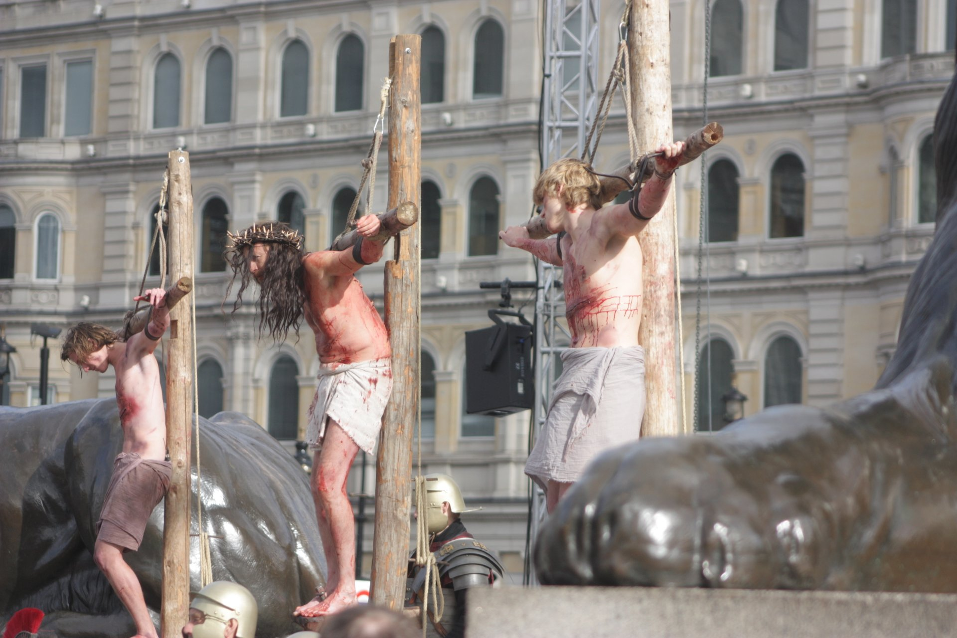 Passion Play at Trafalgar Square 2020
