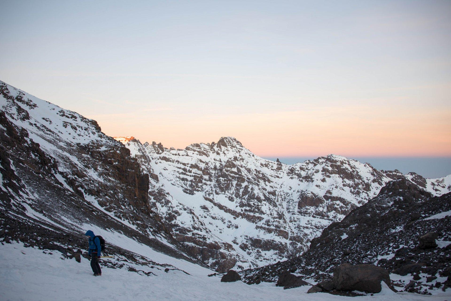 Climbing Mount Toubkal in Morocco - Best Season 2020