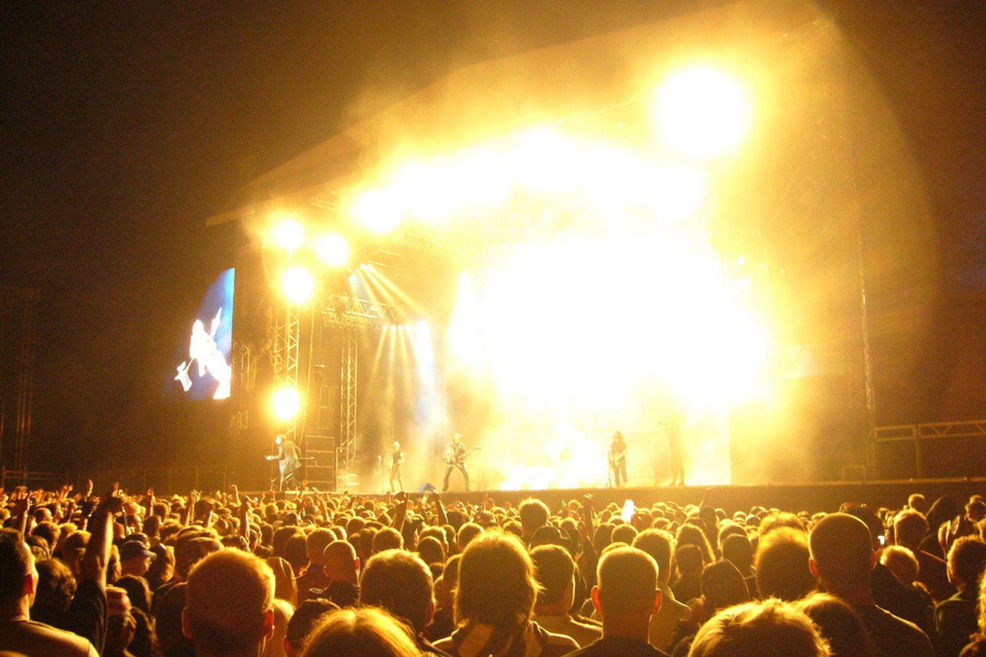 Best time to see Sweden Rock Festival in Sweden 2020
