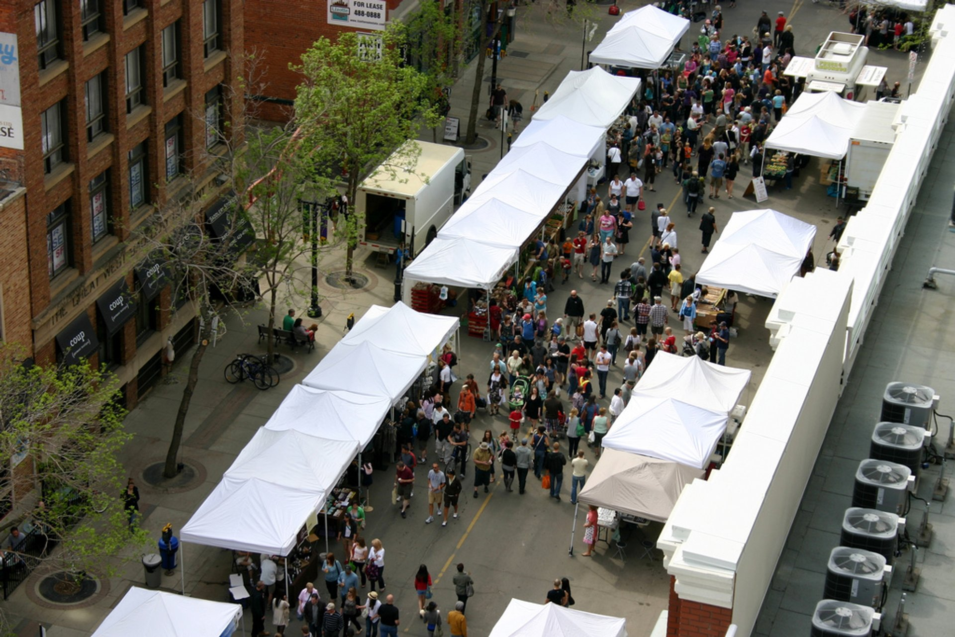 Best time for City Market Downtown 2020