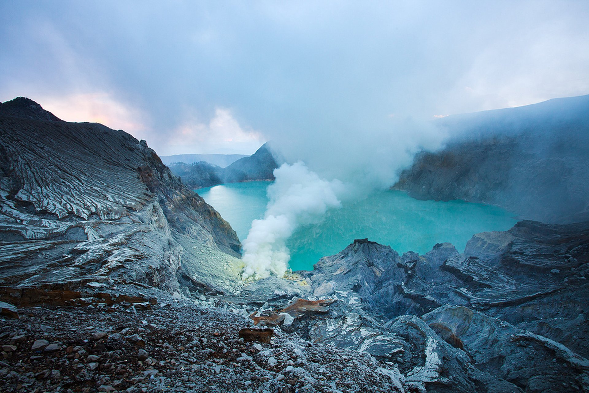 Kawah Ijen Volcano in Java - Best Season 2020