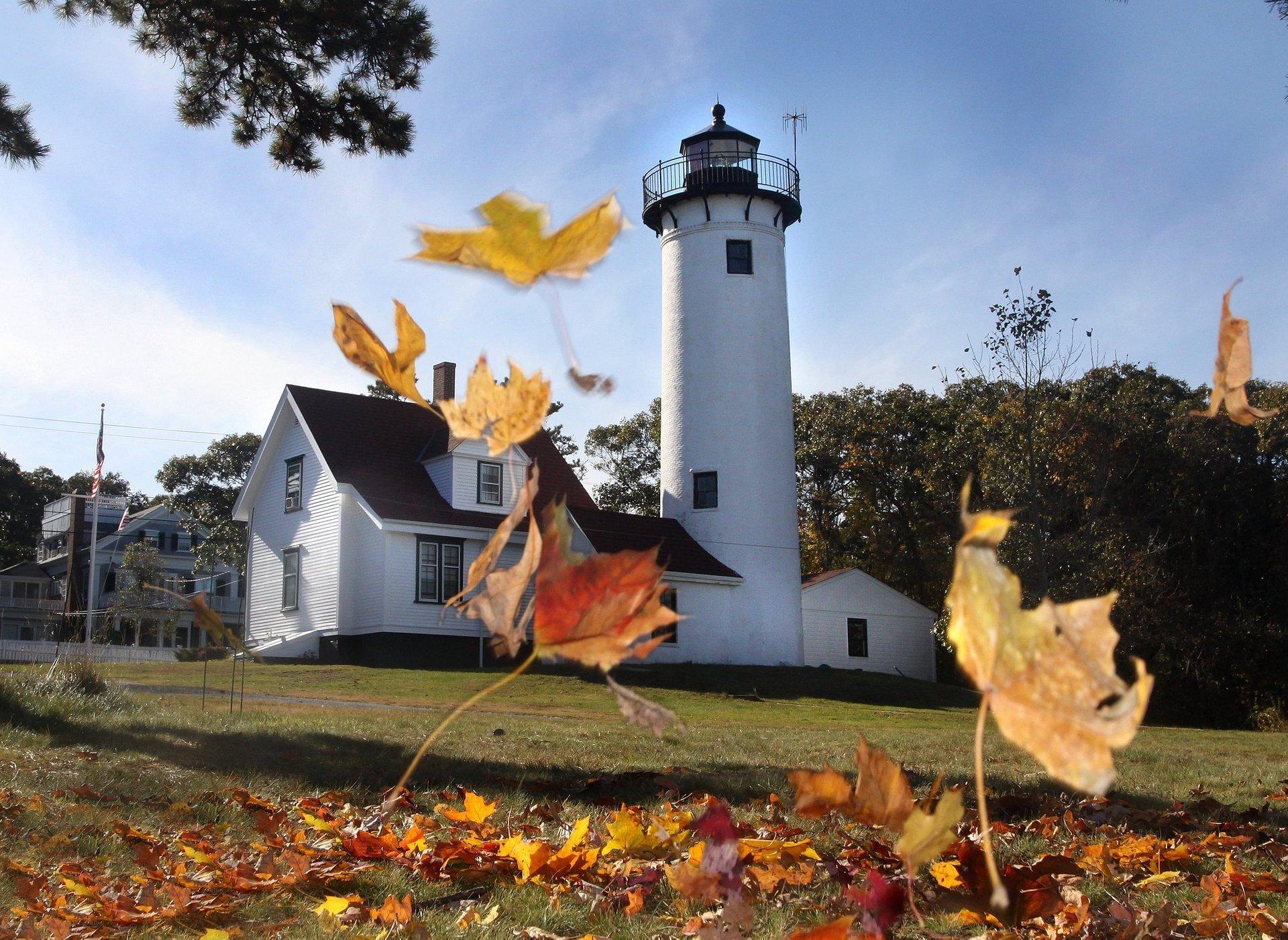 The West Chop Lighthouse, Oak Bluffs, Martha's Vineyard 2020