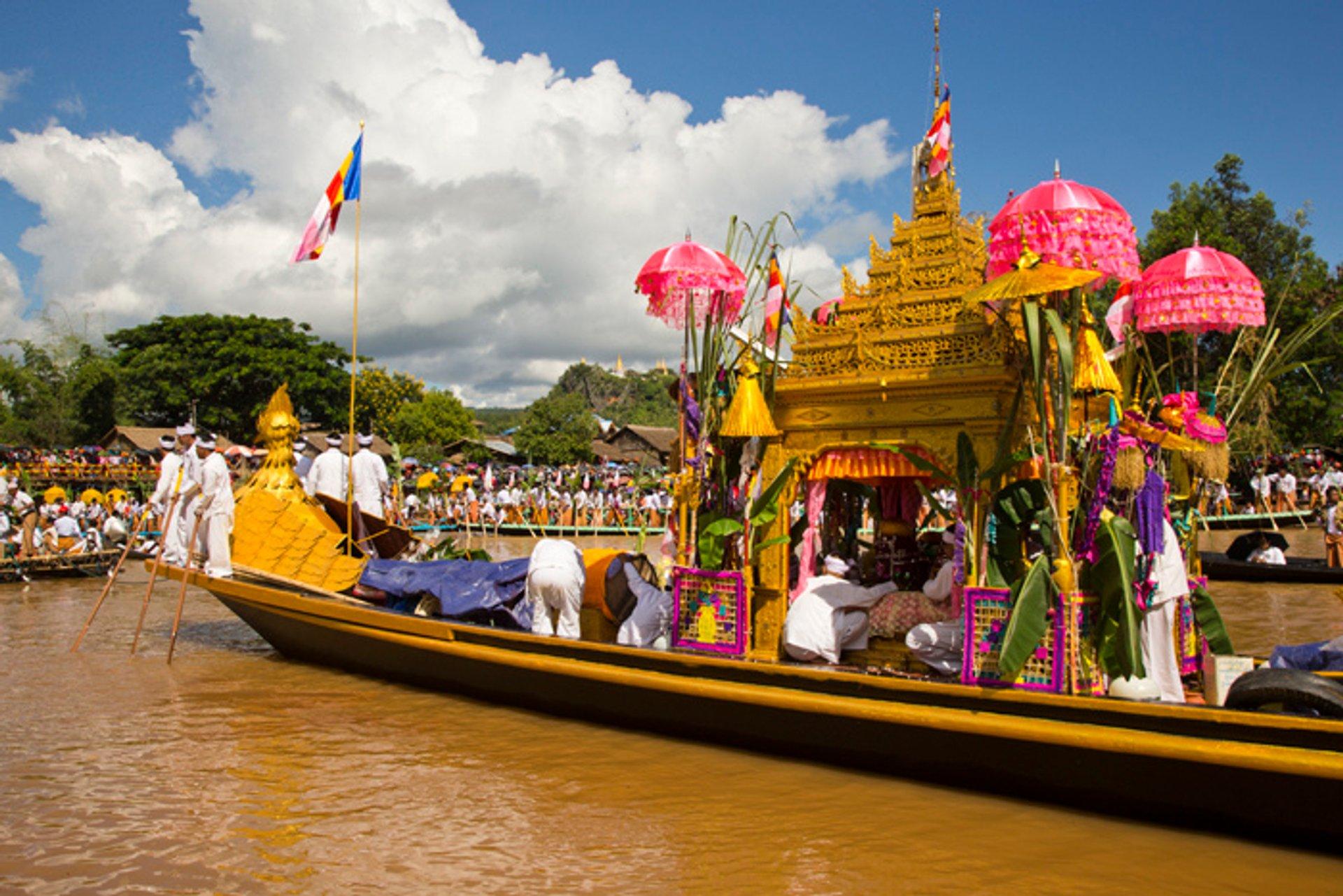 Phaung Daw Oo Pagoda Festival in Myanmar - Best Time