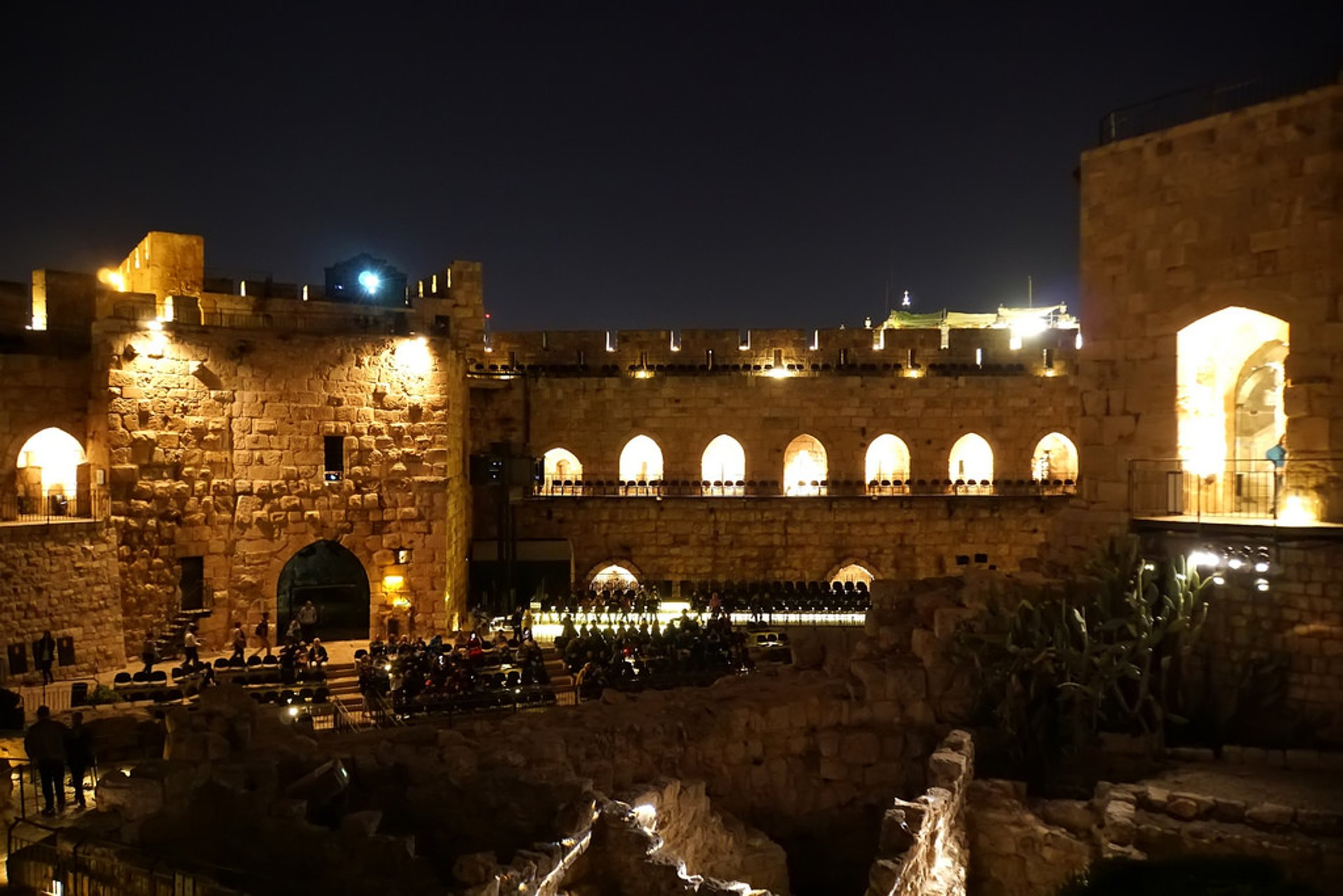 Best time for Tower of David Night Shows in Jerusalem 2020