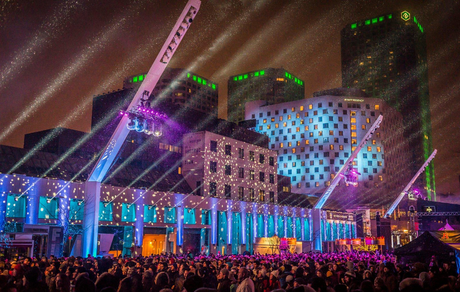 Montréal en Lumière in Montreal 2019 - Best Time