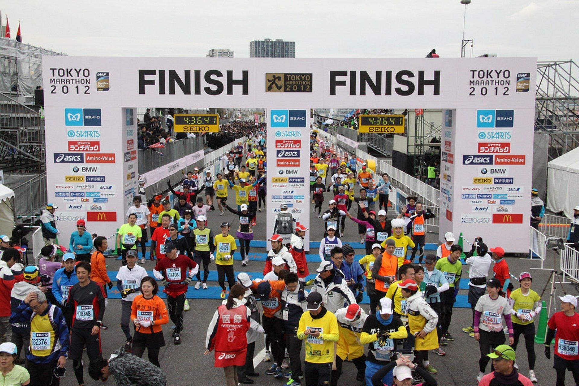 Best time for Tokyo Marathon in Tokyo 2020