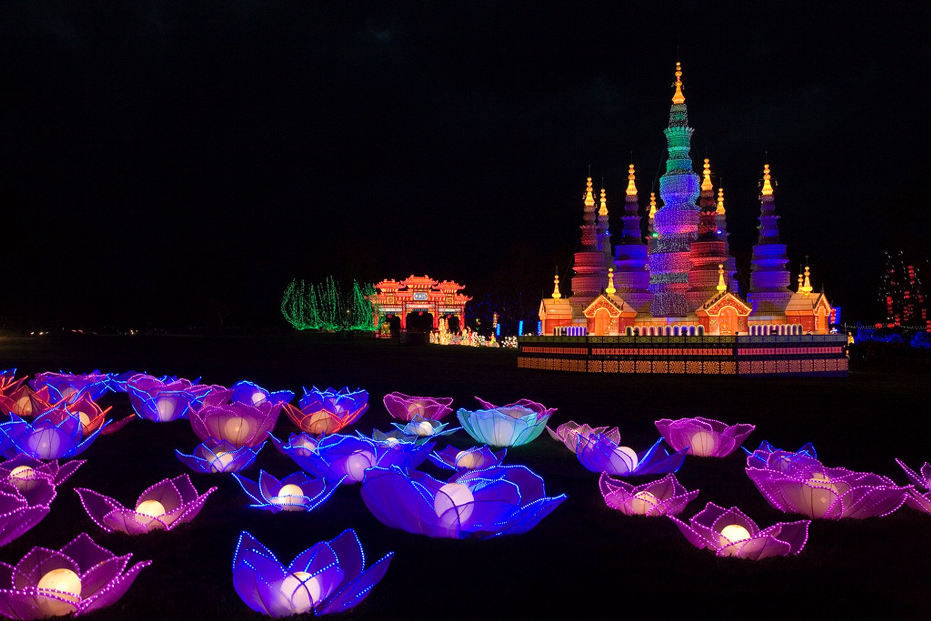 Festival of Light at Longleat in England 2020 - Best Time