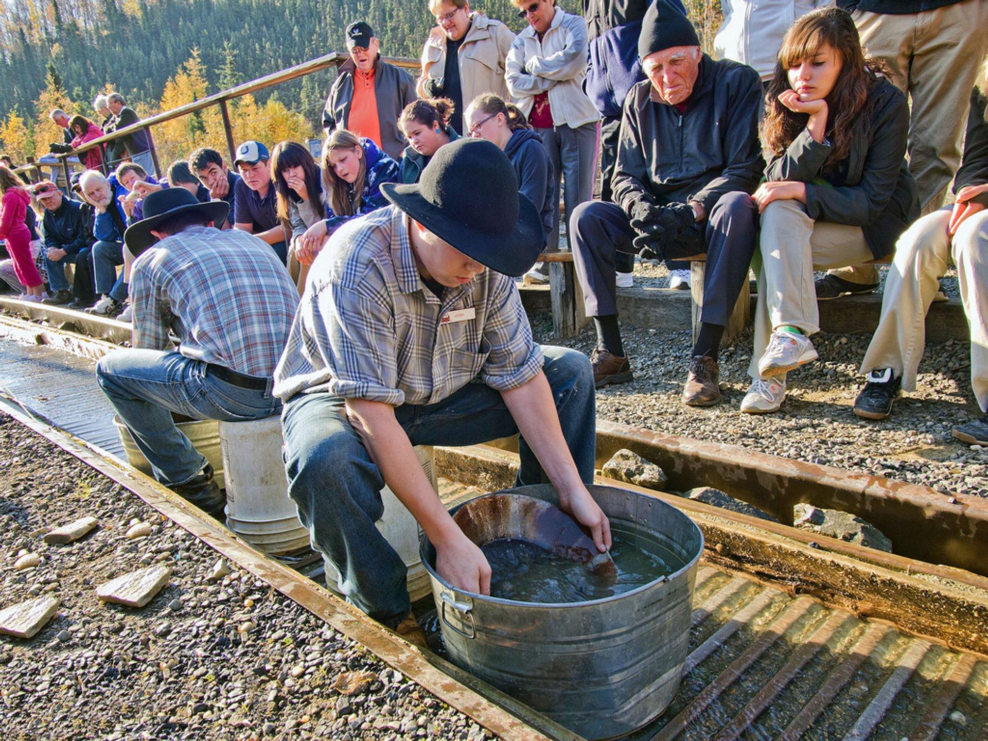 Panning for Gold at Eldorado Gold Mine 2019