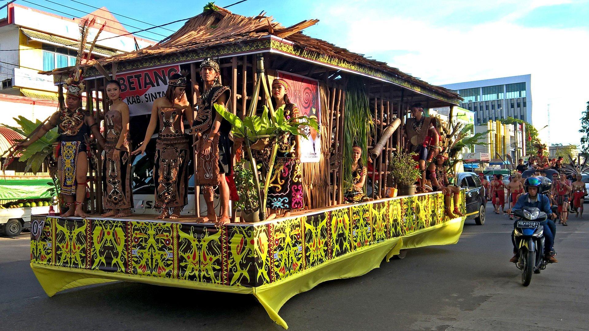 Gawai Dayak in Pontianak