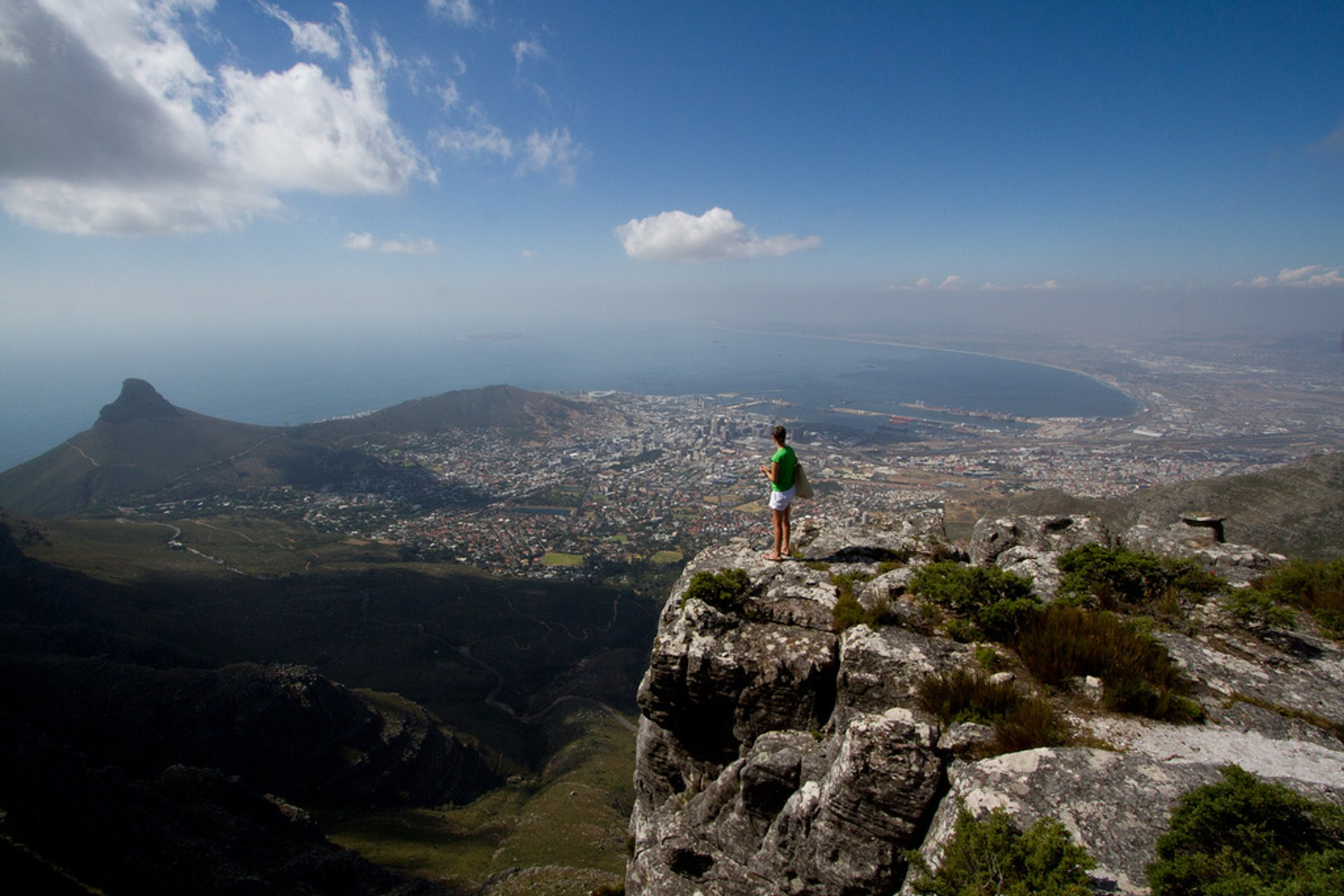 Cape Town from Table Mountain 2020