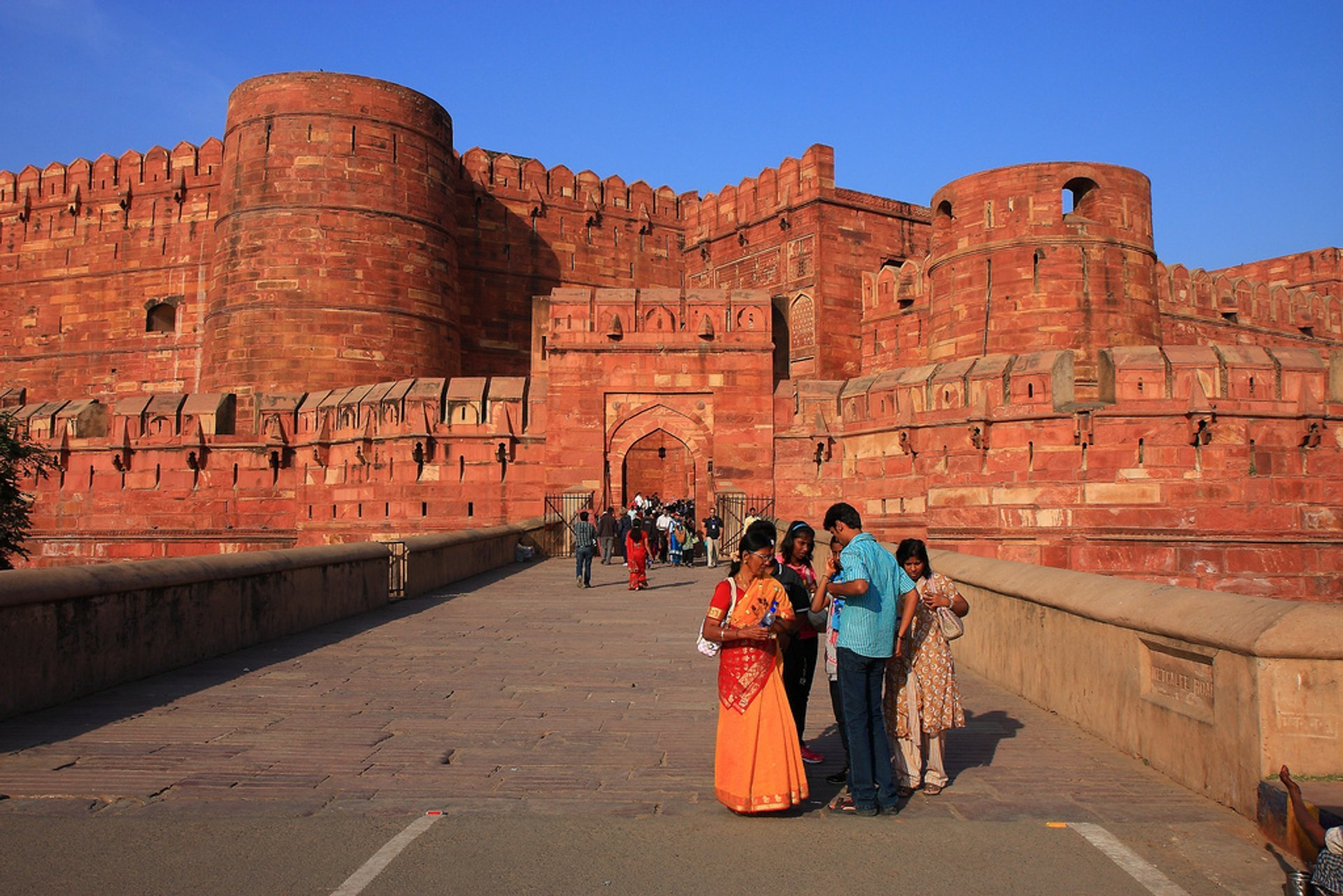 Agra Fort in Taj Mahal and Agra  - Best Time