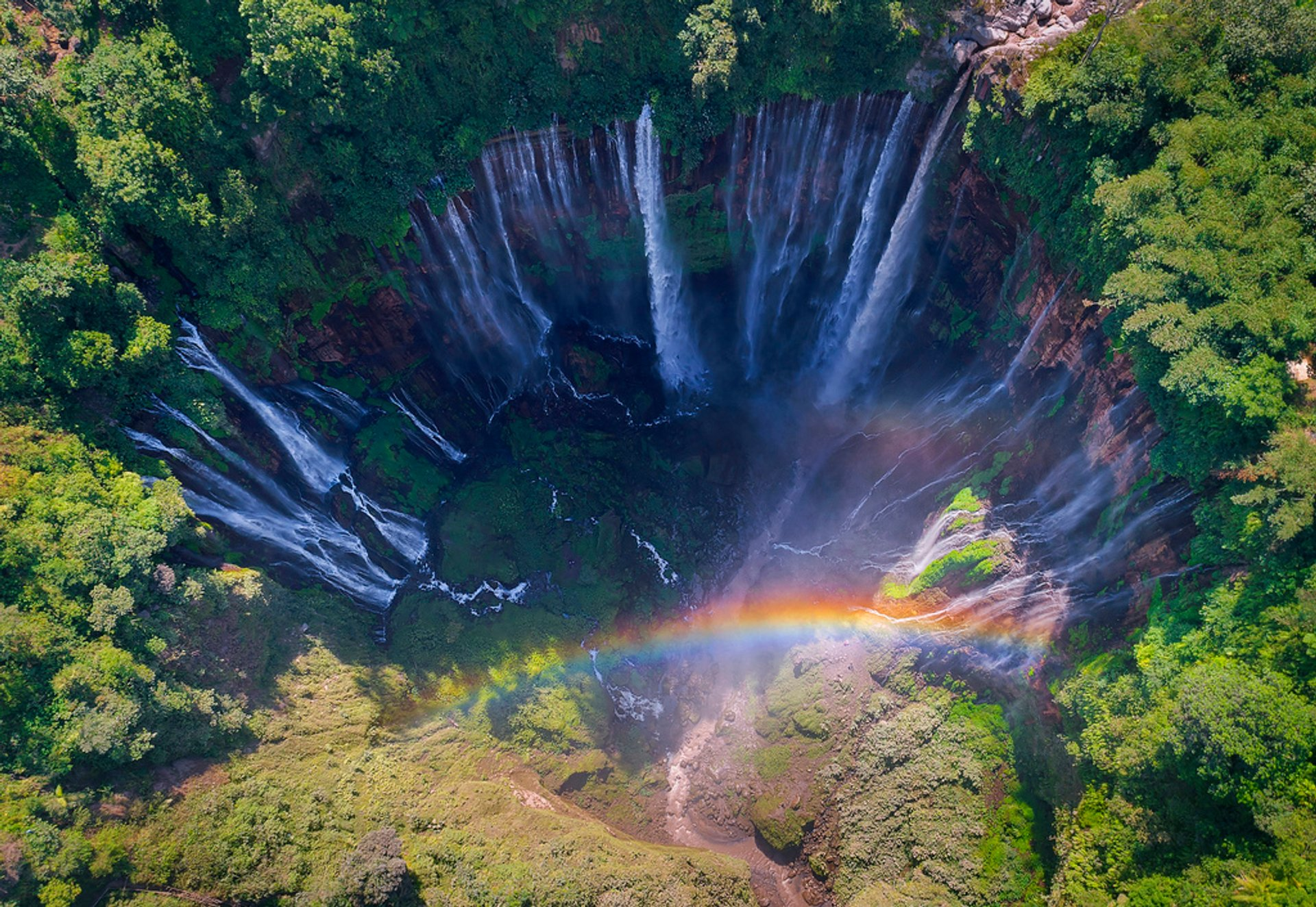 Tumpak Sewu Waterfall in Java 2020 - Best Time