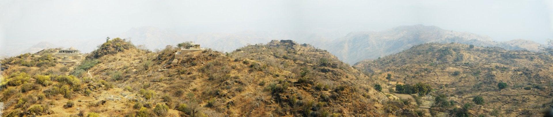 Panoramic View from Kumbhalgarh 2019