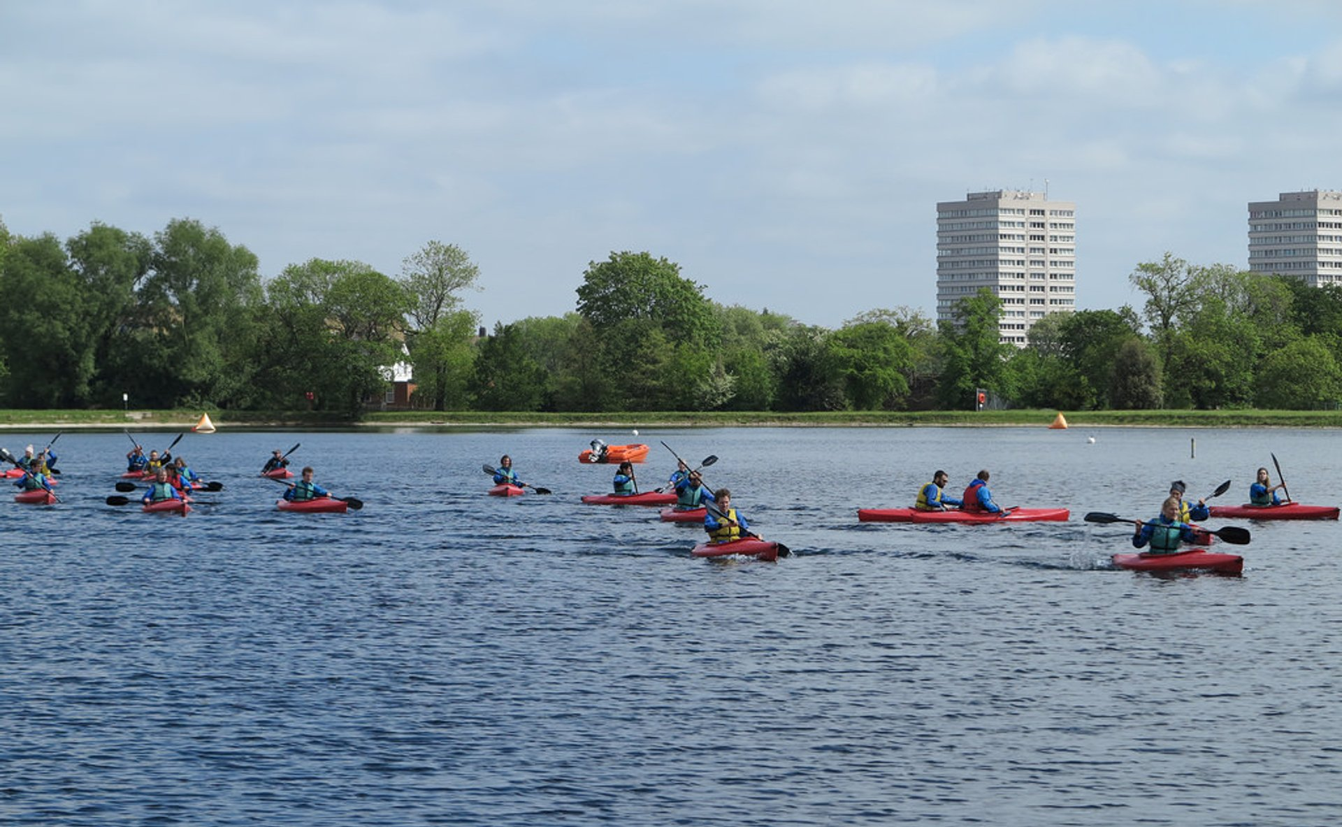 Best time for Watersports at West Reservoir Centre in London 2020