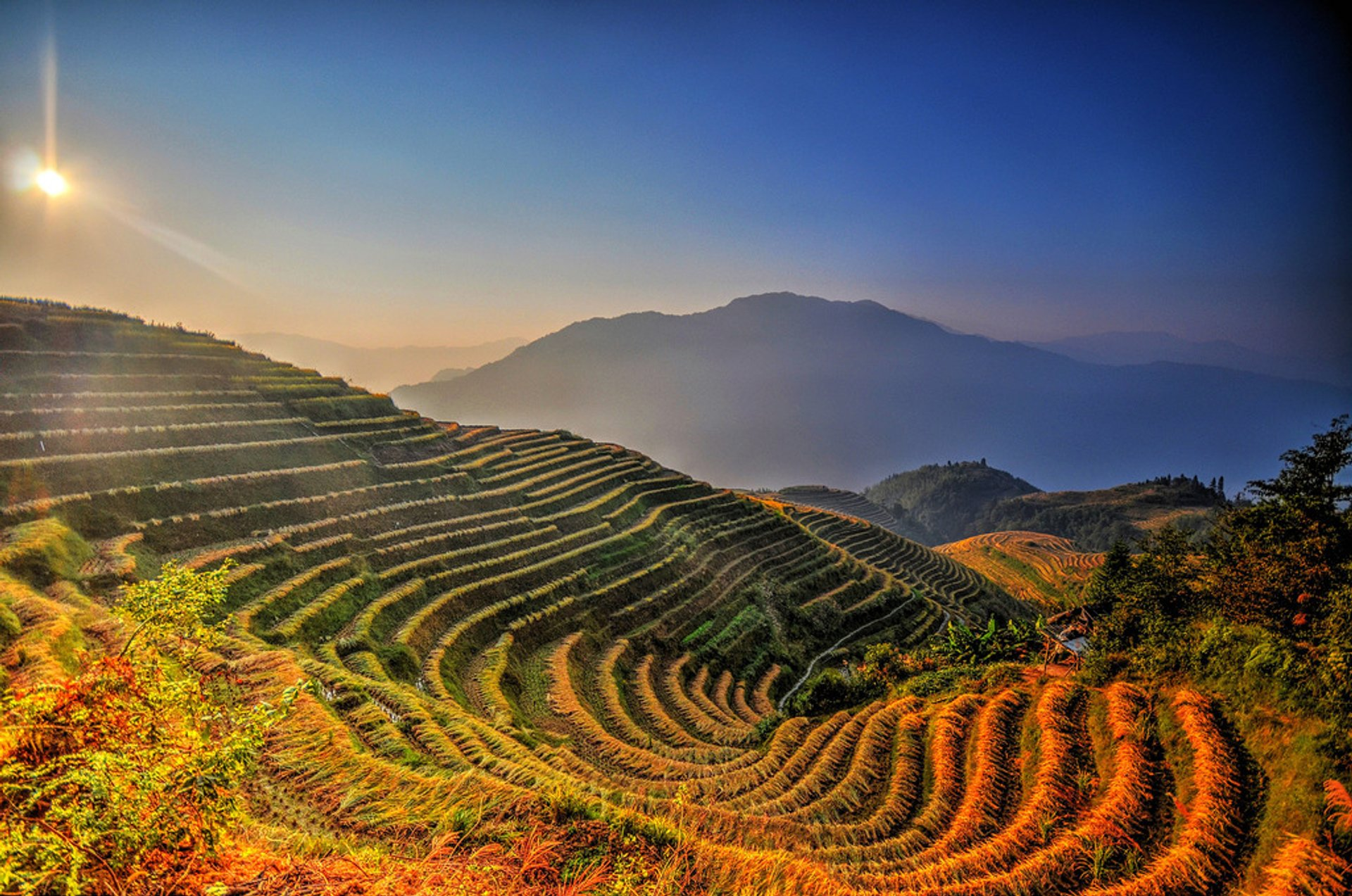Best time for Longsheng (Longji) Rice Terraces 2019