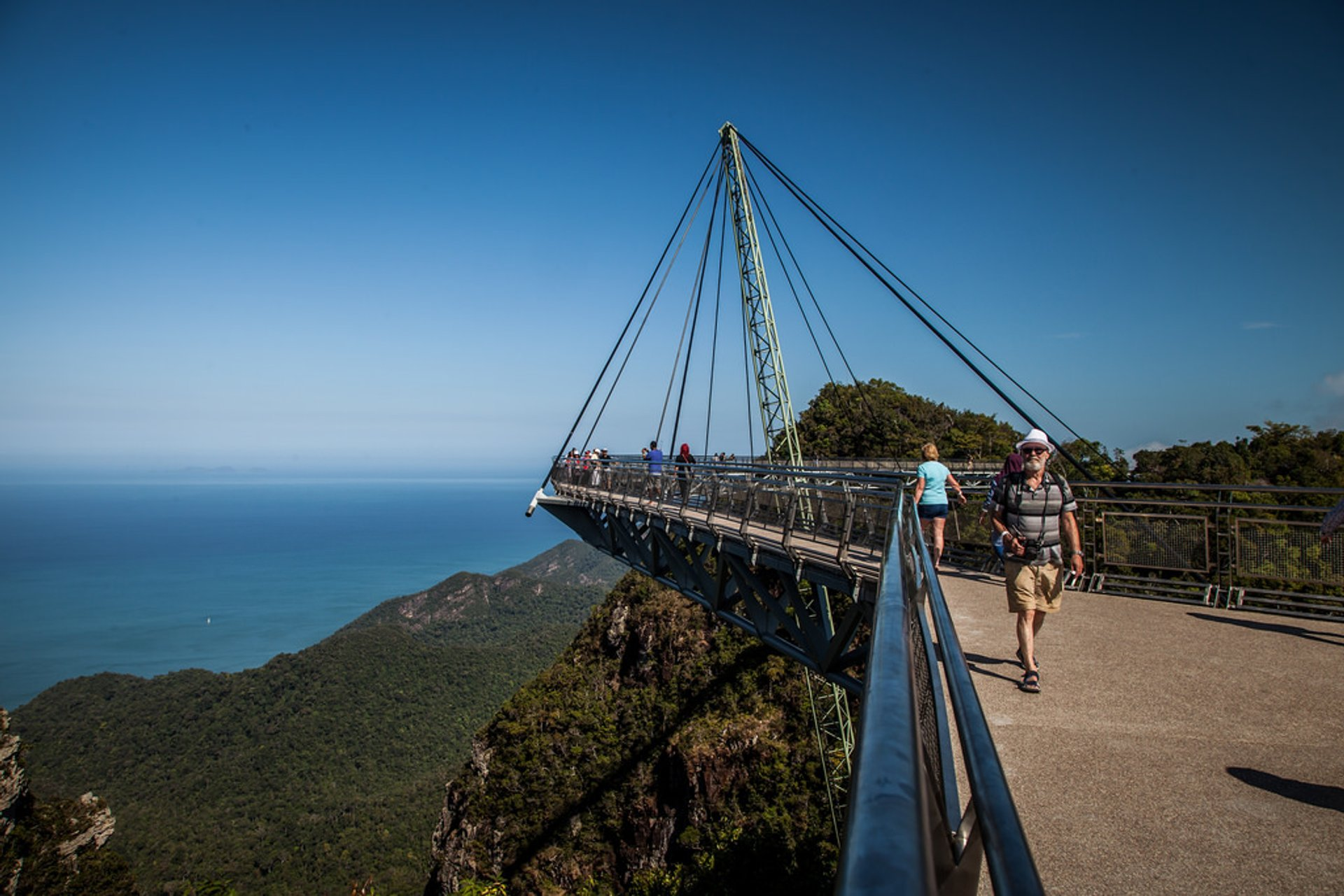 Best time to see Langkawi SkyBridge in Malaysia 2020