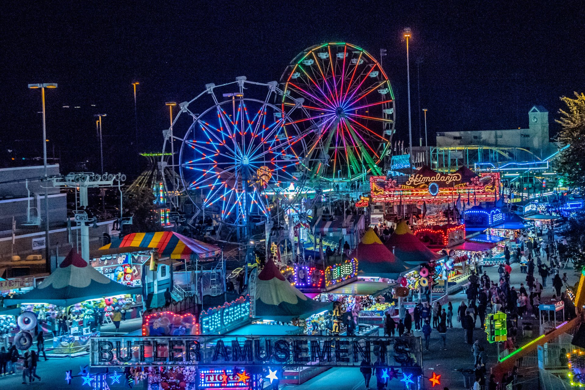Central Washington State Fair in Seattle 2019 - Best Time