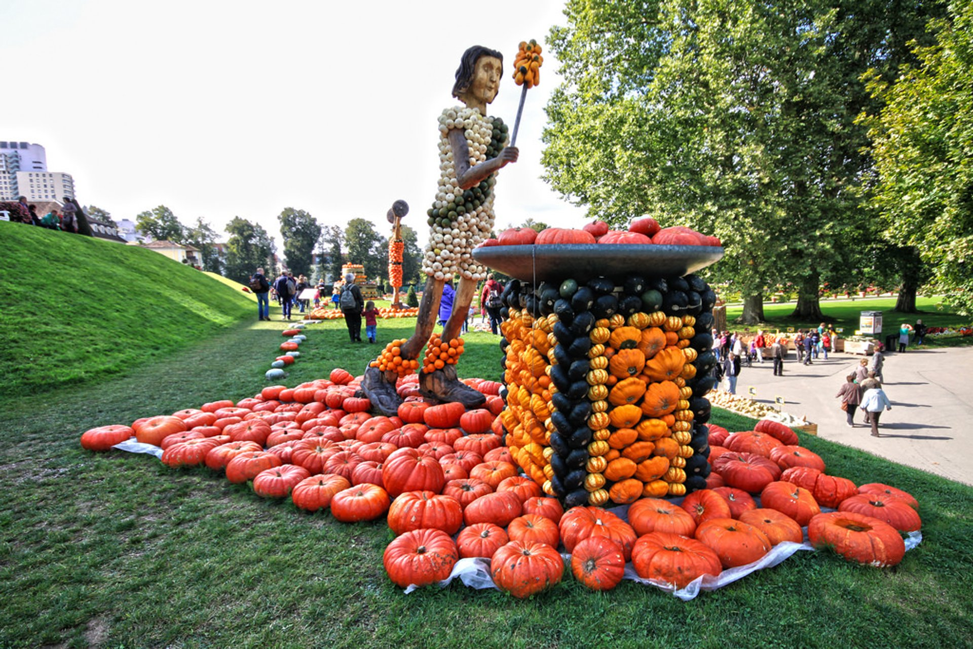 Best time for Ludwigsburg Pumpkin Festival in Germany 2020