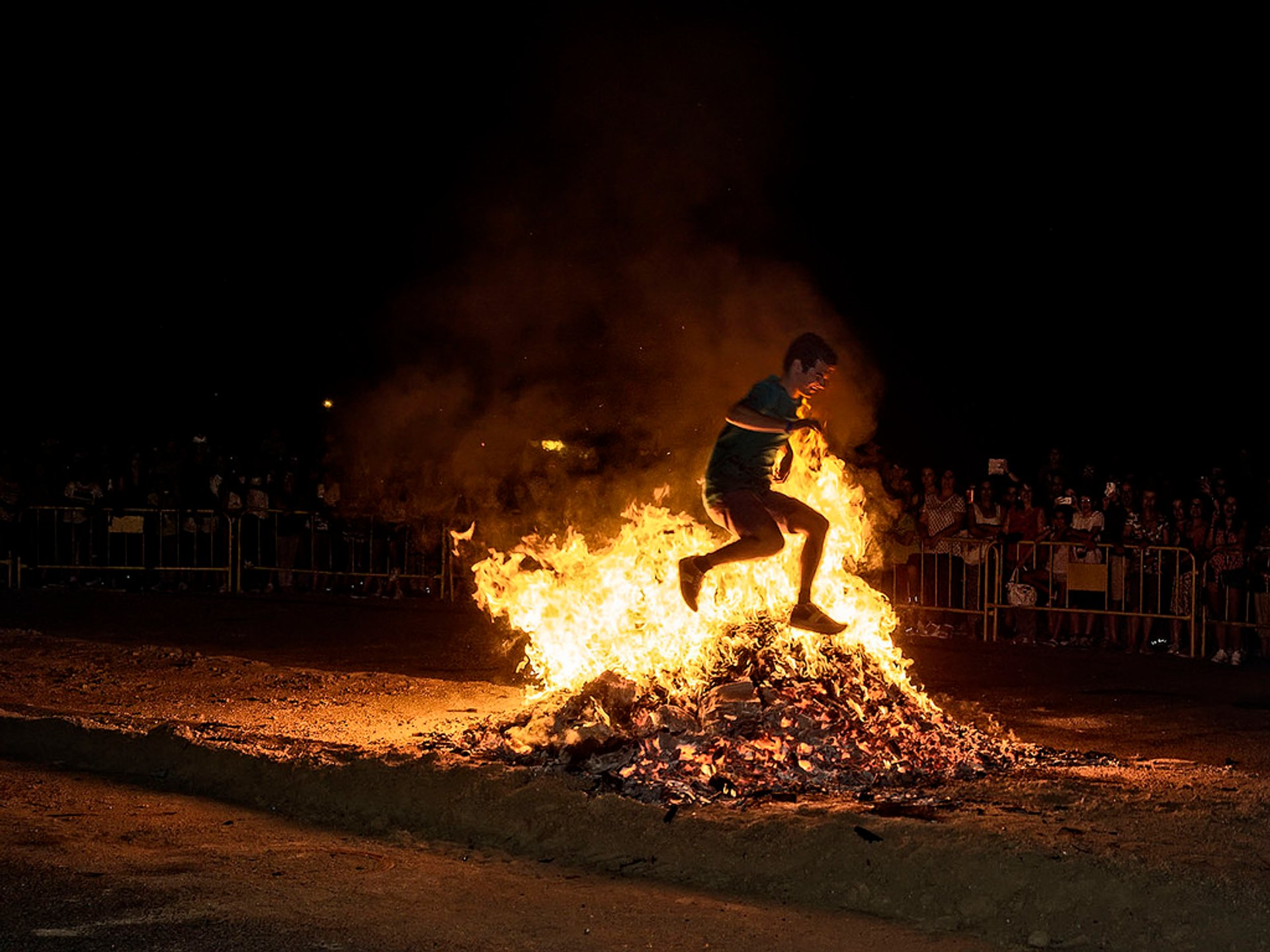 Best time to see San Juan Bonfire Festival (Noche de San Juan) in Spain 2020