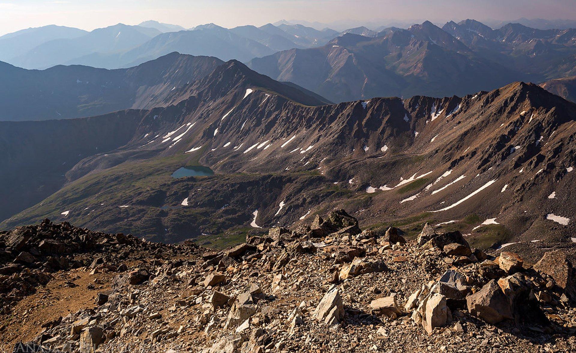 Best time to see La Plata Peak in Colorado 2020