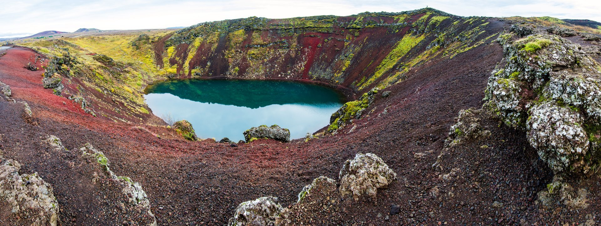 Kerid Crater Lake in Iceland 2020 - Best Time