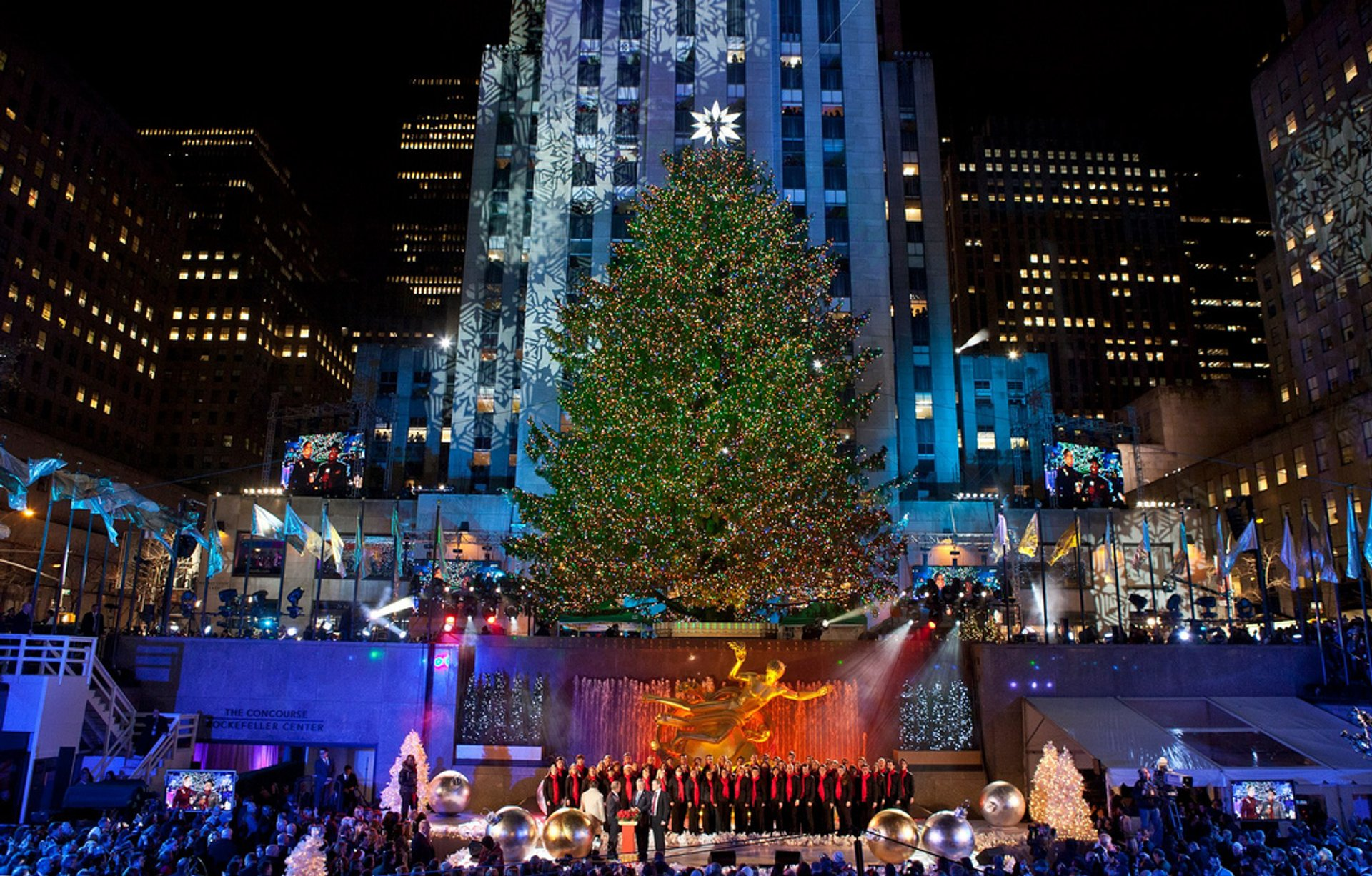 rockefeller center christmas tree 2020 in new york dates rockefeller center christmas tree 2020