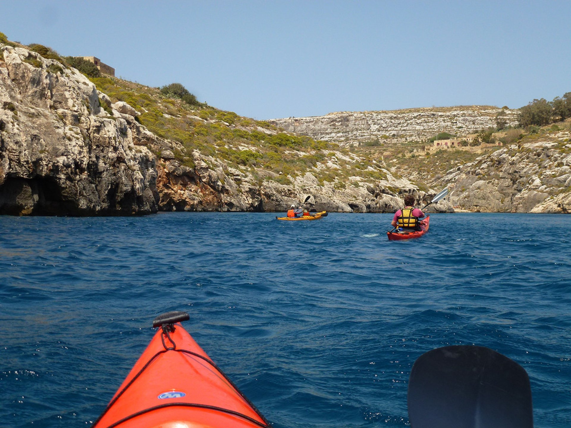 Kayaking in Malta - Best Season 2020