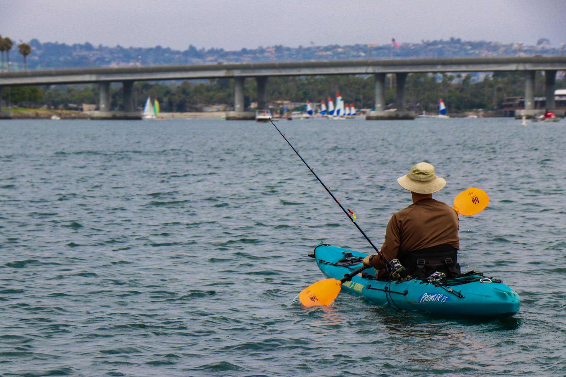Best time for Kayaking in San Diego