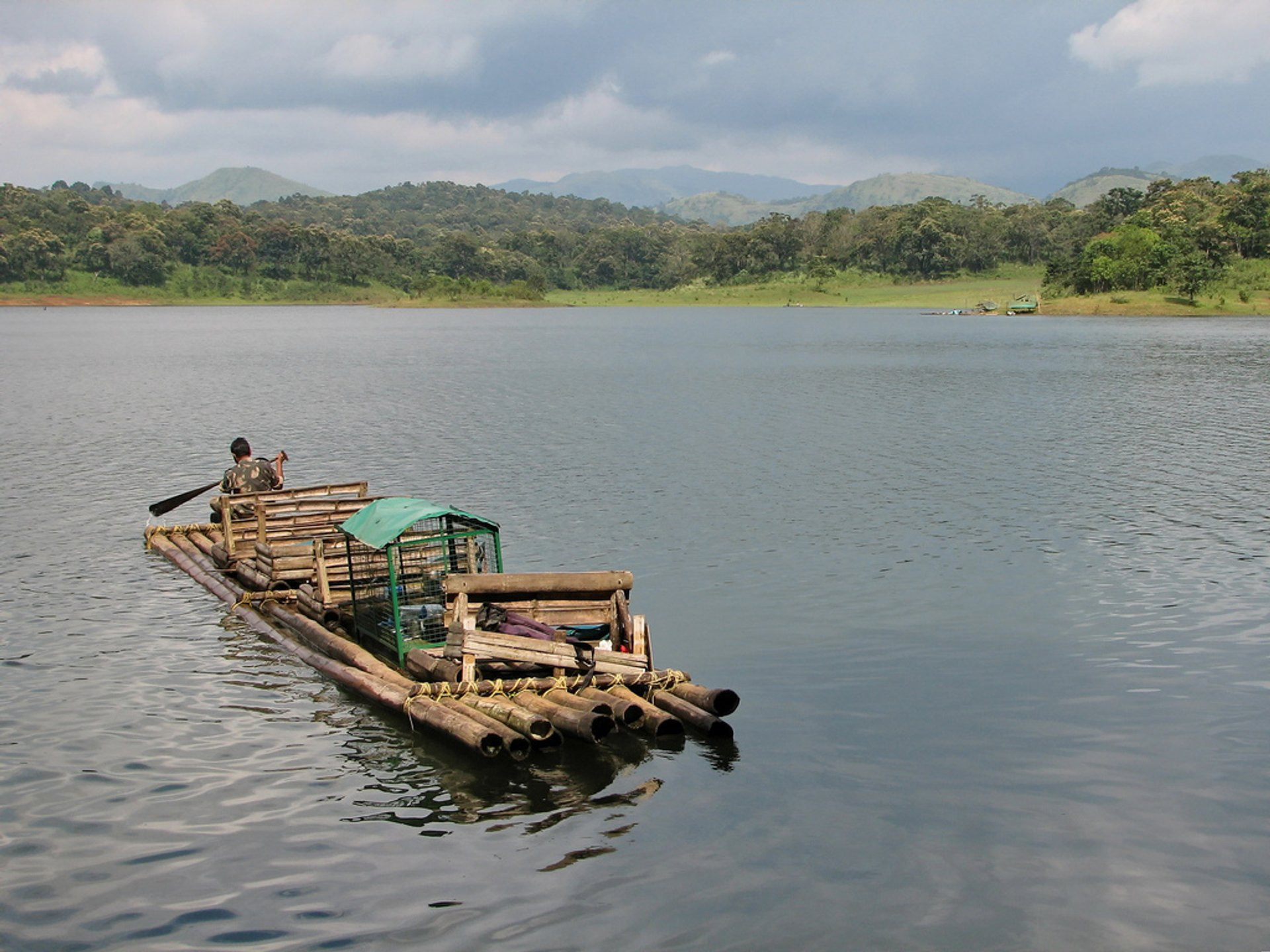 Bamboo Rafting in Kerala - Best Time