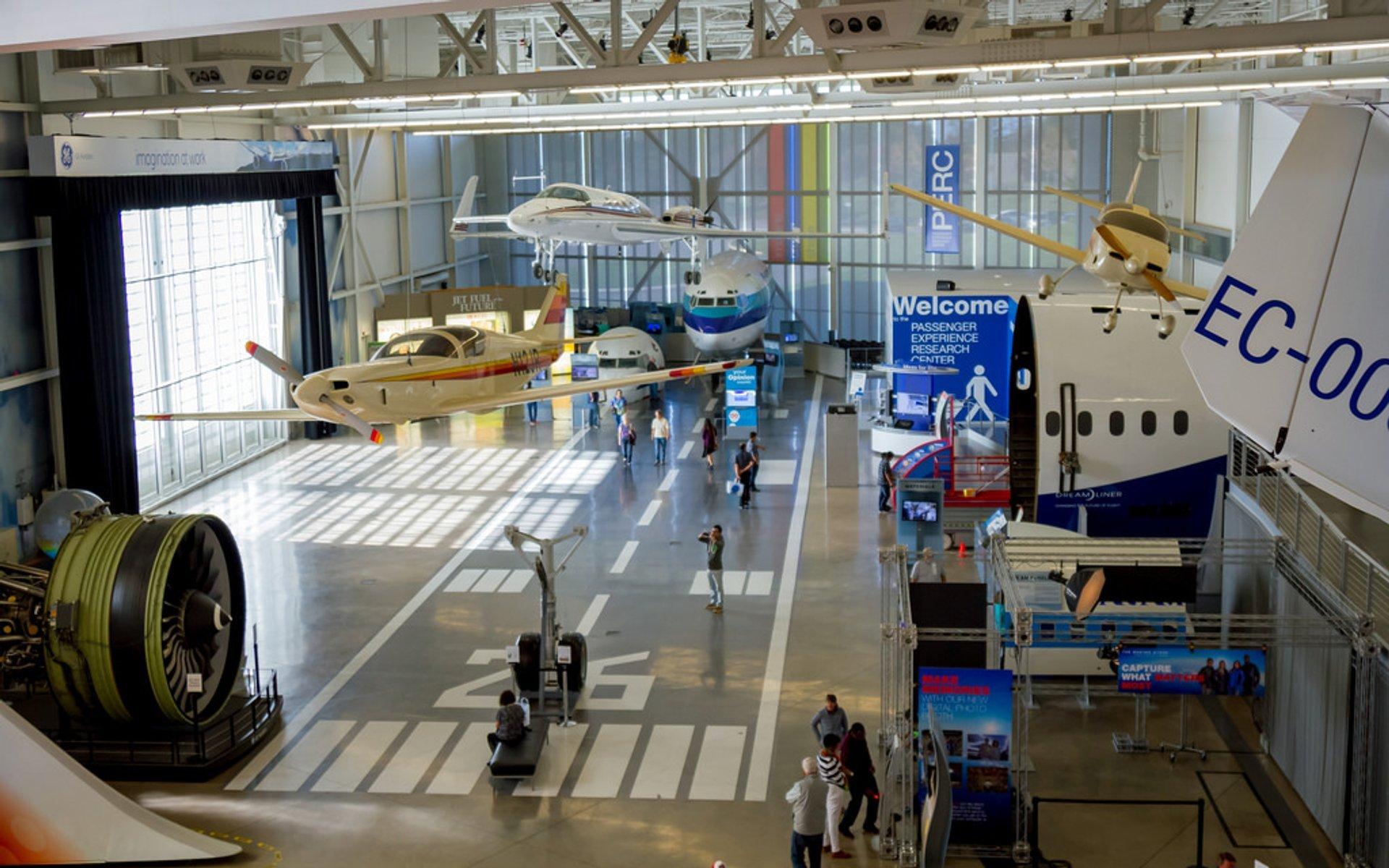Boeing Factory in Seattle - Best Season 2020