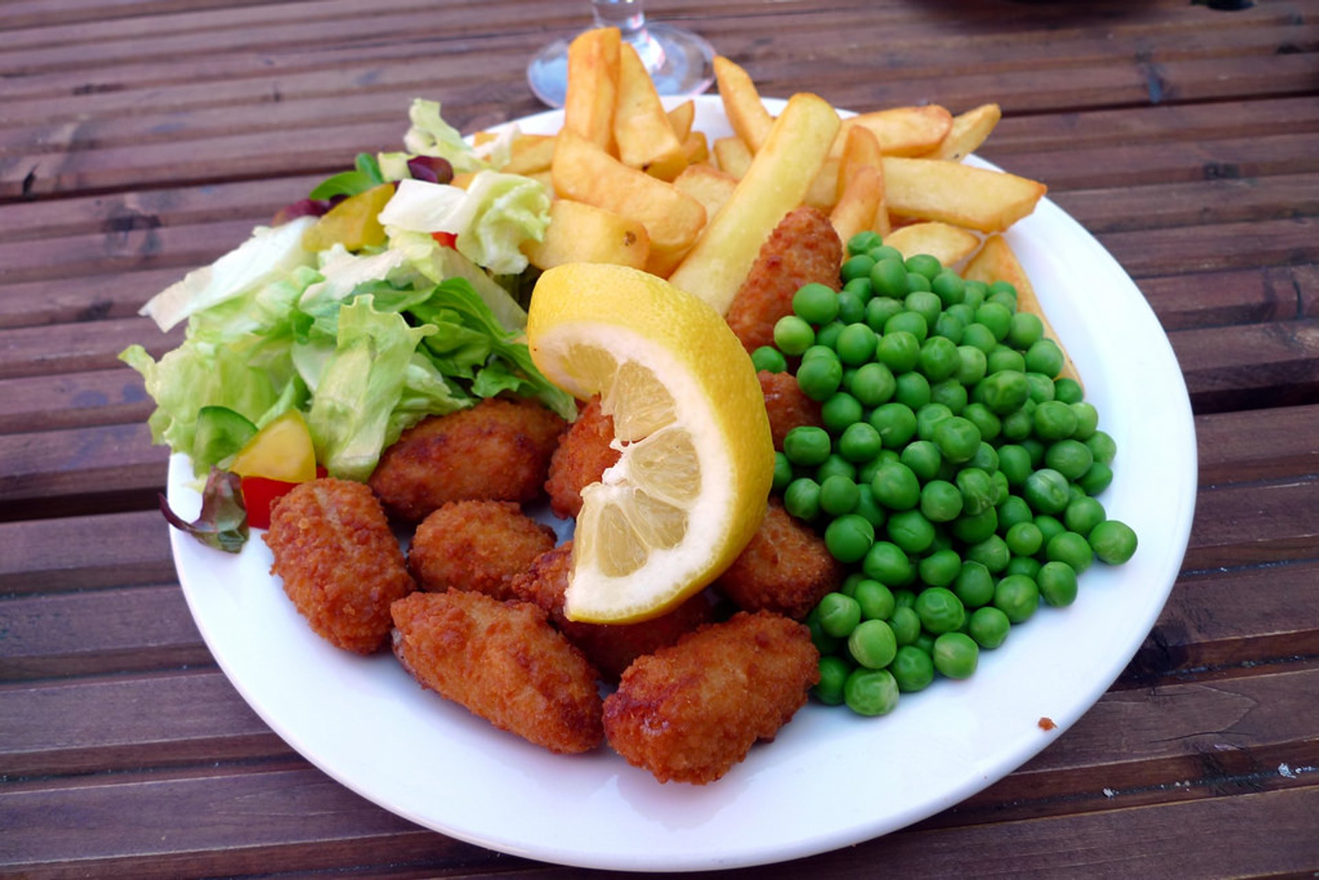"""The scampi and chips, can't really go wrong with this, and it was excellent"" 2020"