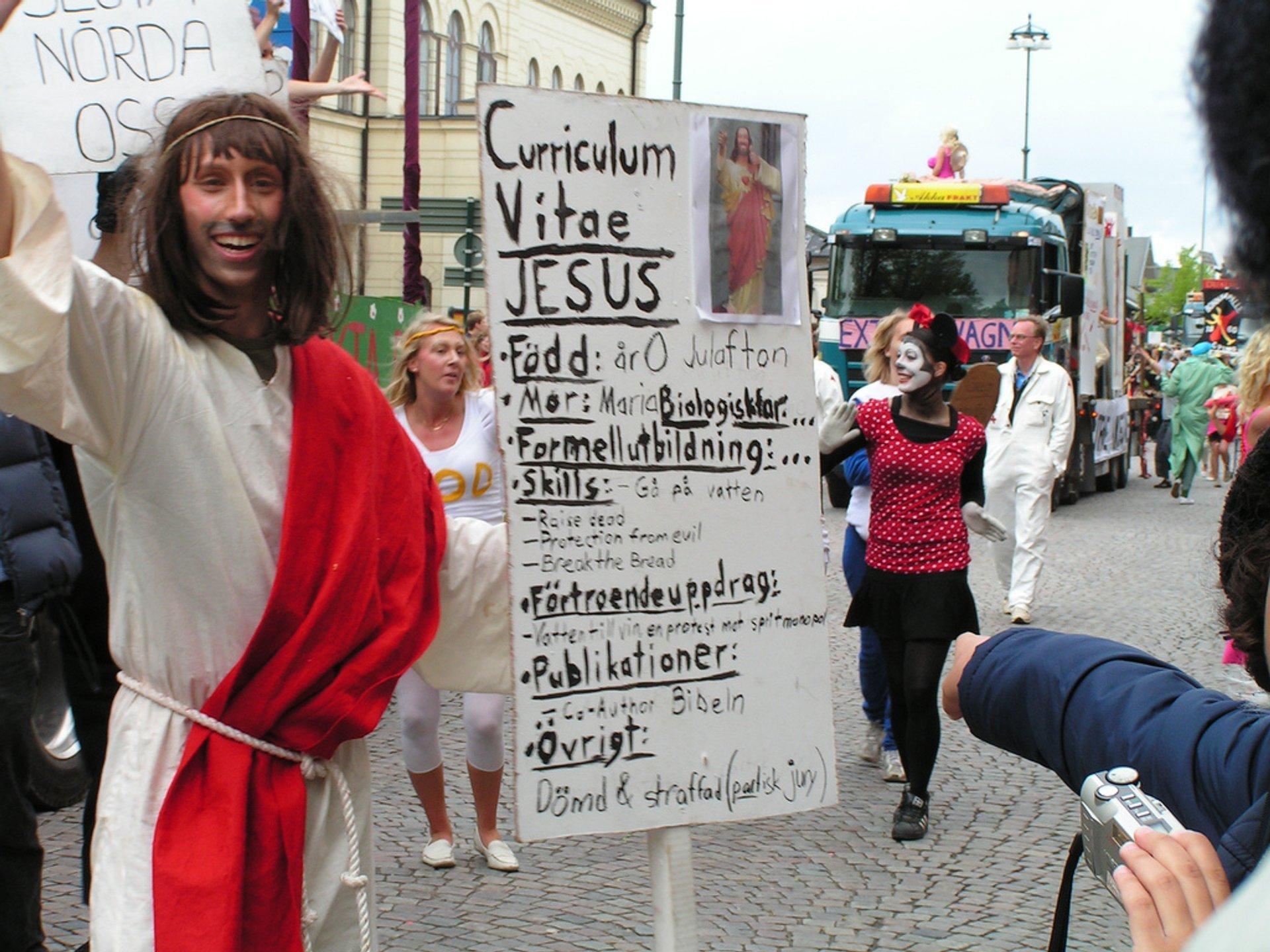 Lundakarnevalen or Lund Carnival in Sweden 2020 - Best Time