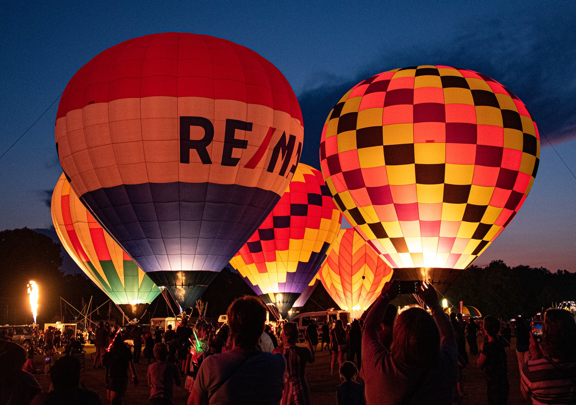 Suncook Valley Rotary Hot Air Balloon Rally in New Hampshire 2020 - Best Time