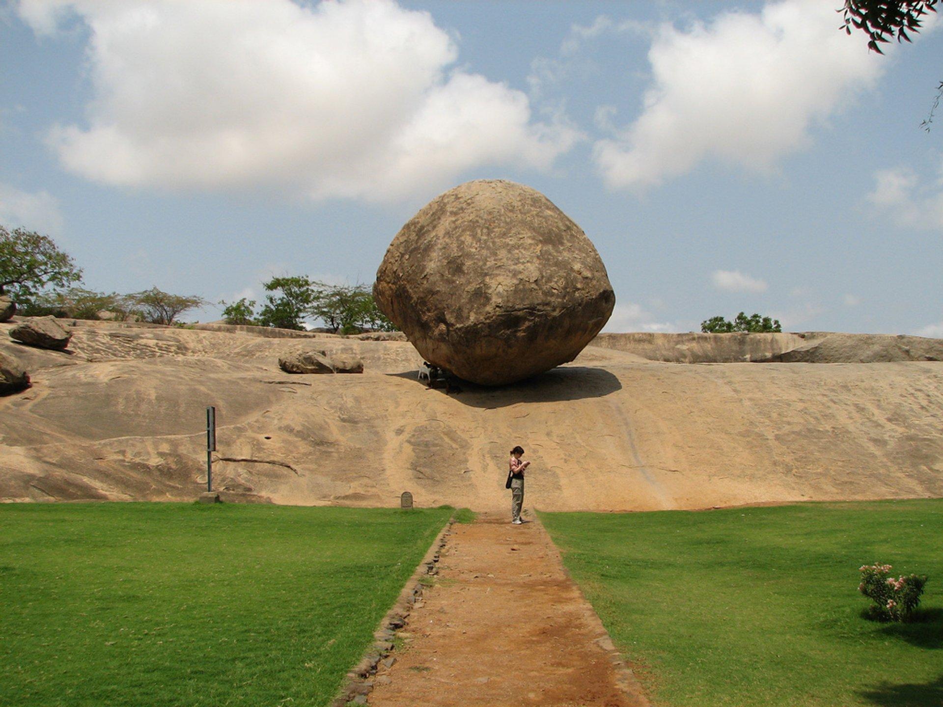 Krishna's Butter Ball in India - Best Season