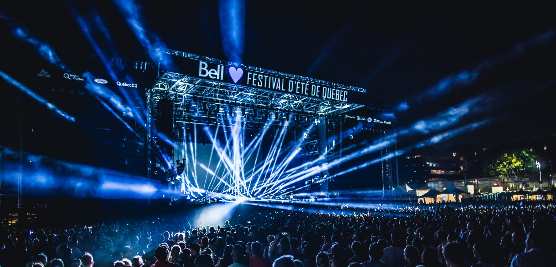 Best time to see Quebec City Summer Festival (Festival d'été de Québec) in Quebec 2020