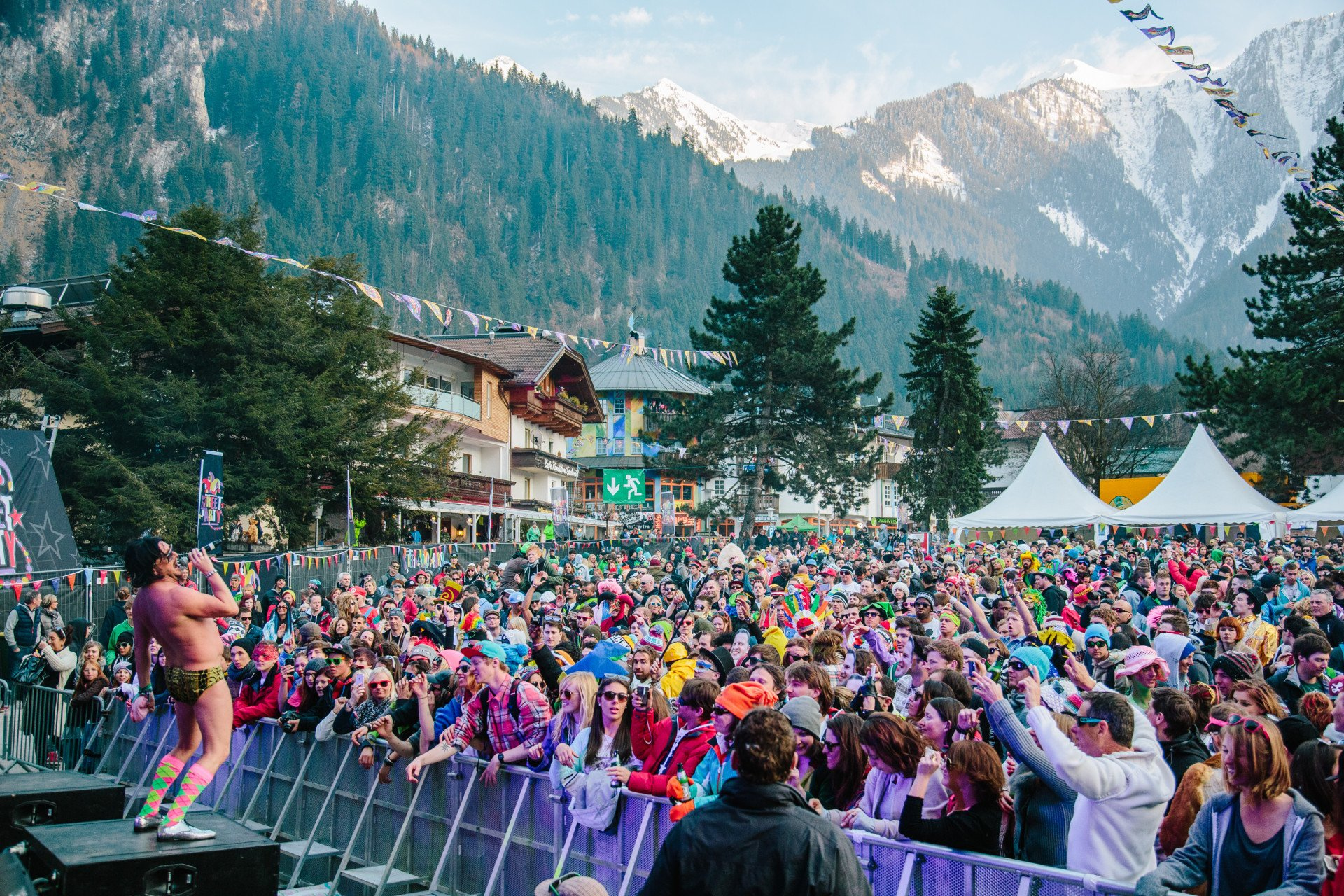 Best time for Snowbombing Music Festival in Mayrhofen in Austria 2020