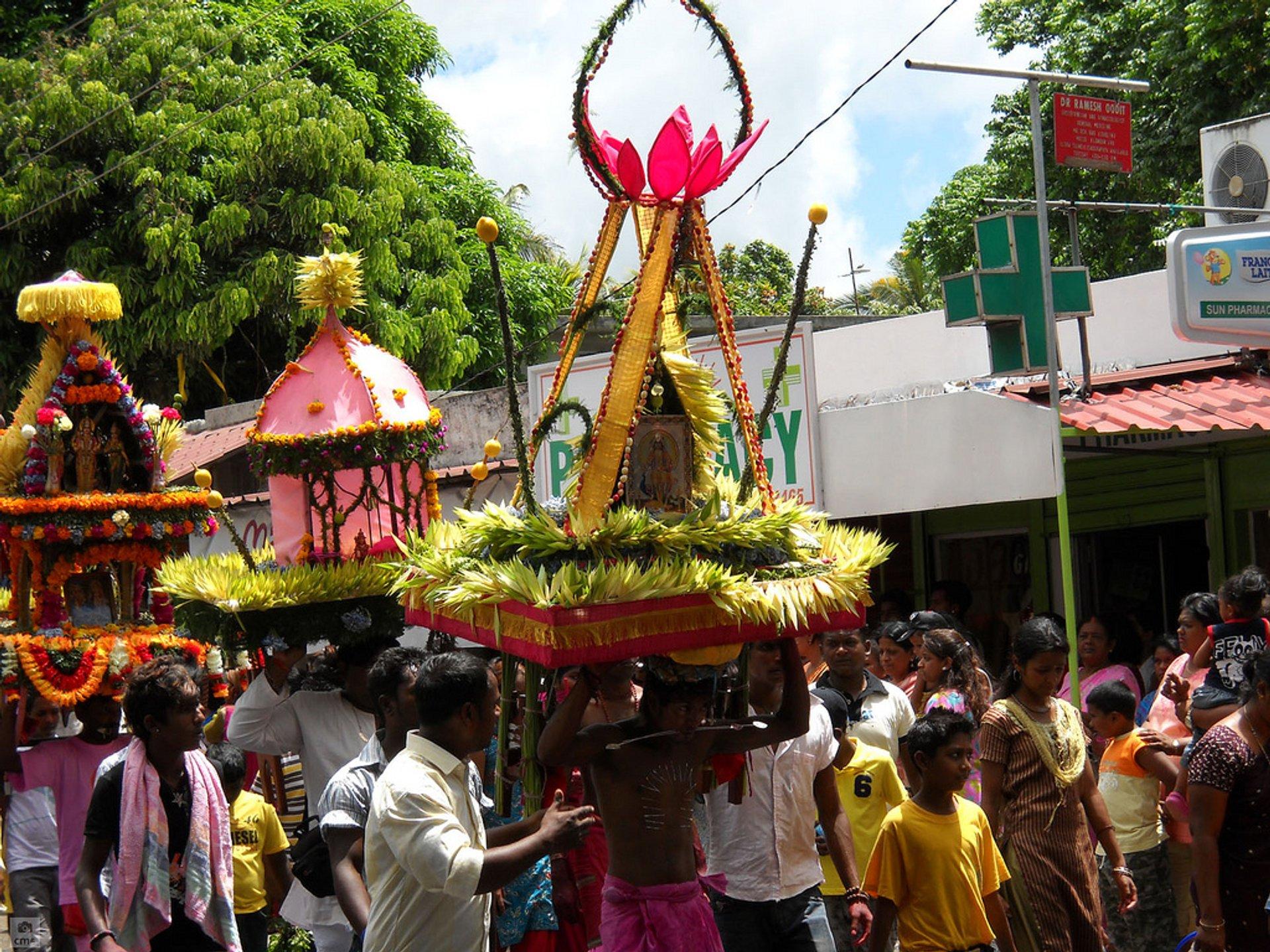 Thaipoosam Cavadee in Mauritius - Best Season 2020