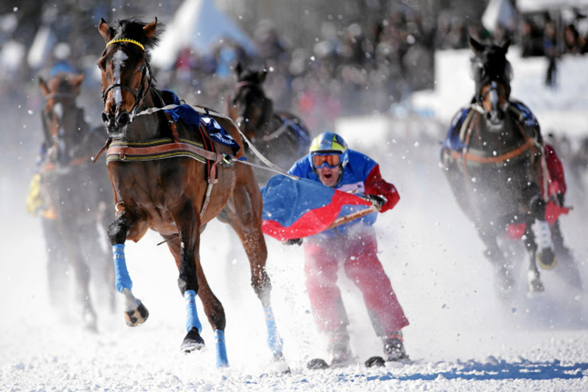 Best time for White Turf St. Moritz 2019