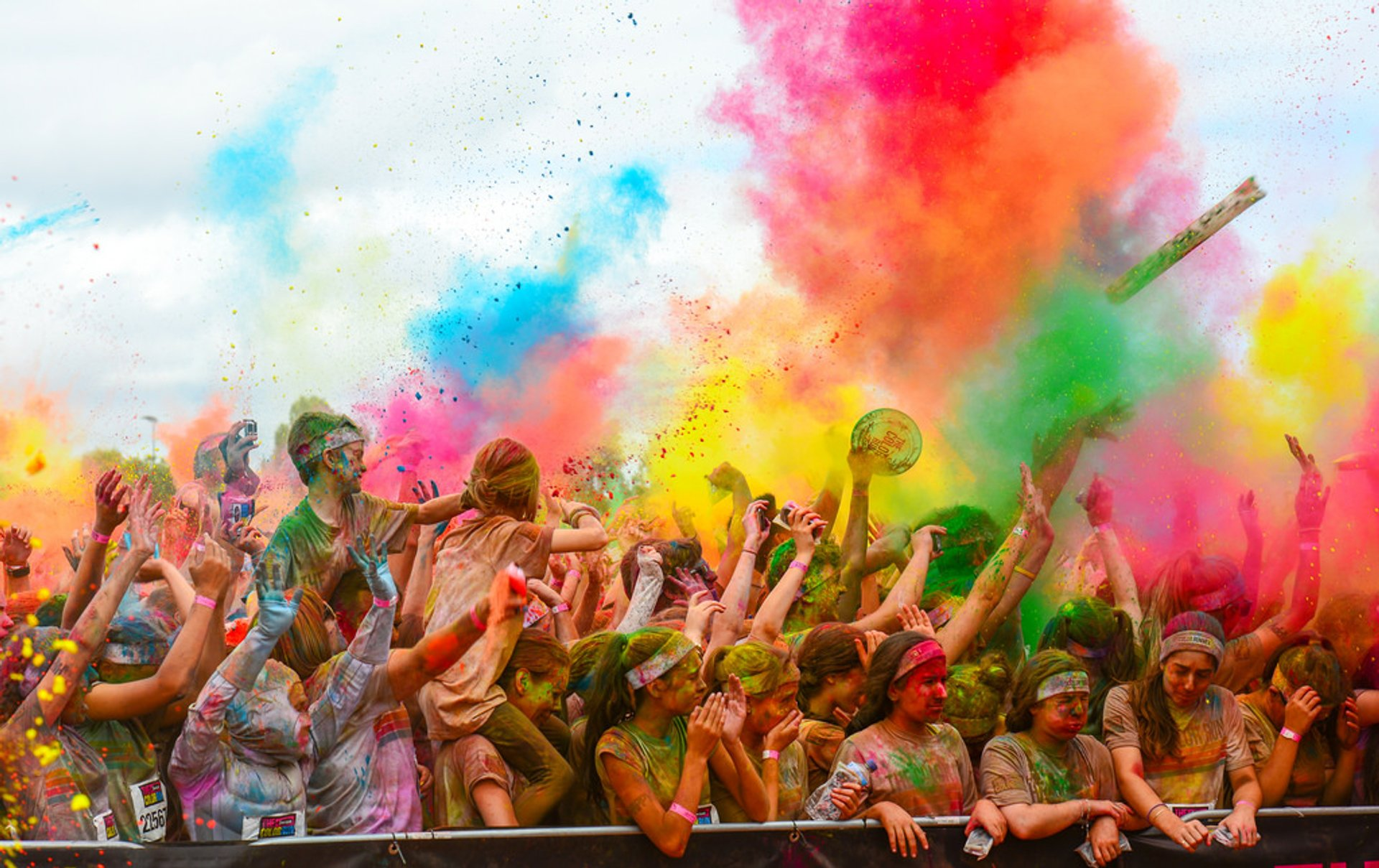 The Color Run in Melbourne - Best Time