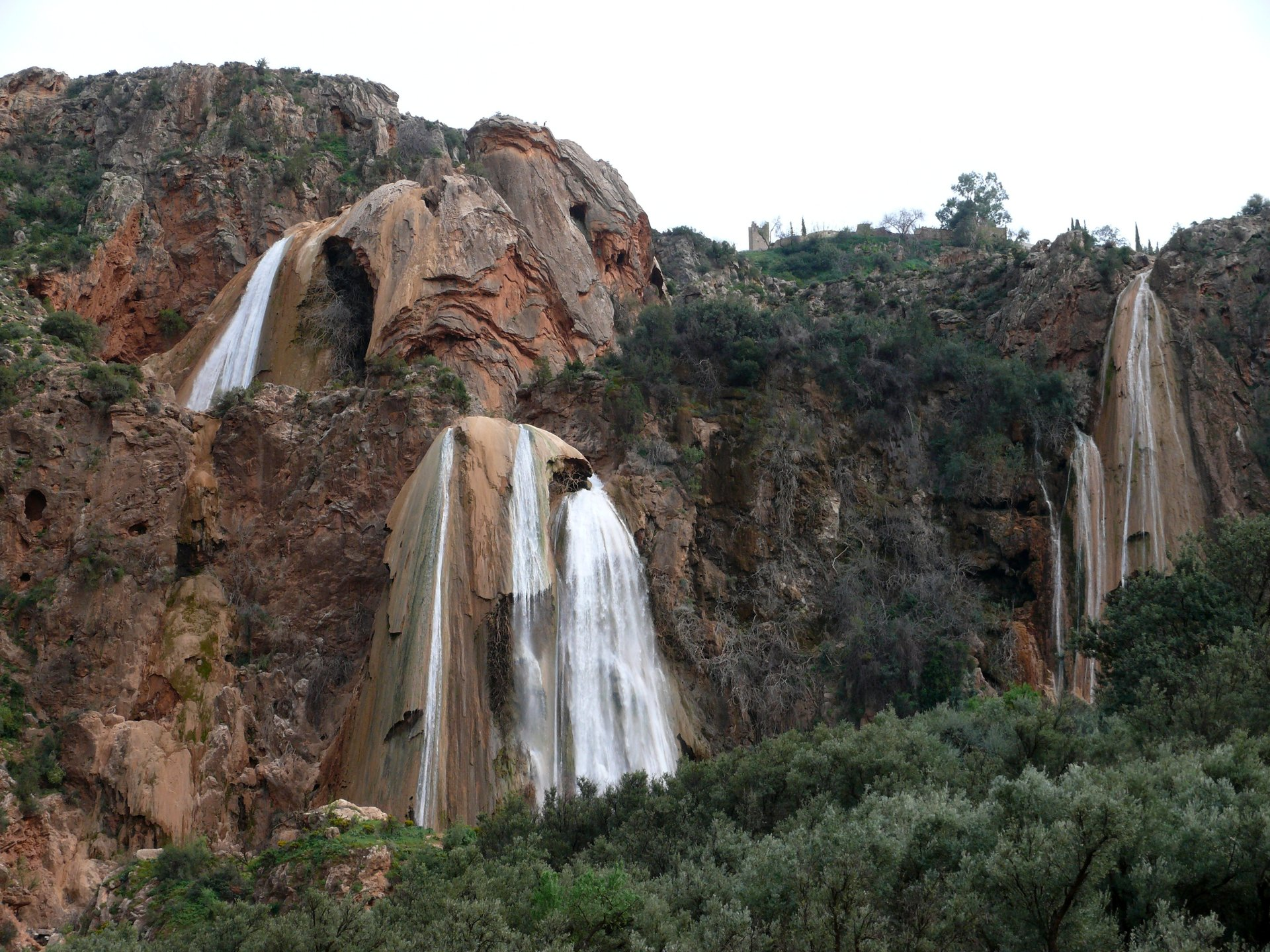 Winter Waterfalls in Morocco - Best Season