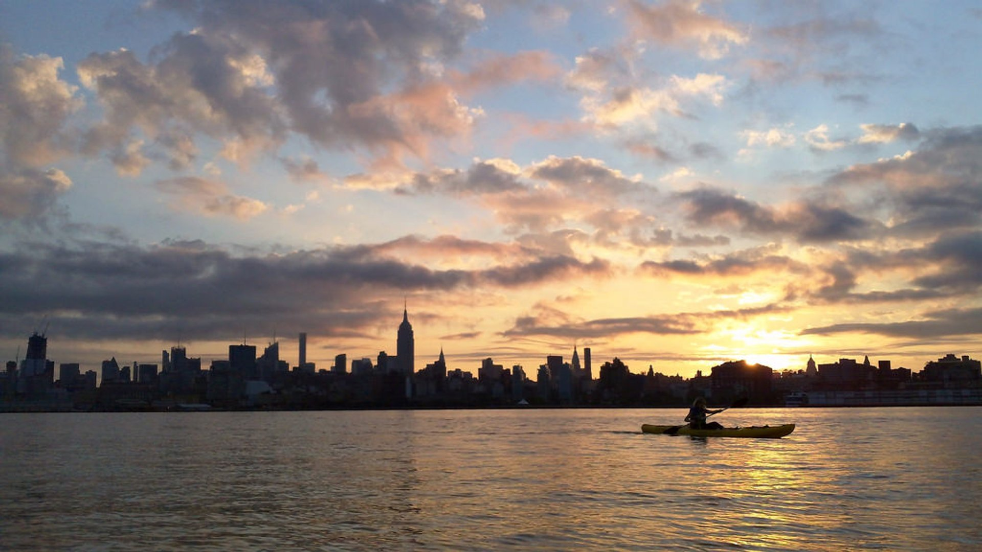 Best time for Kayaking on the Hudson in New York