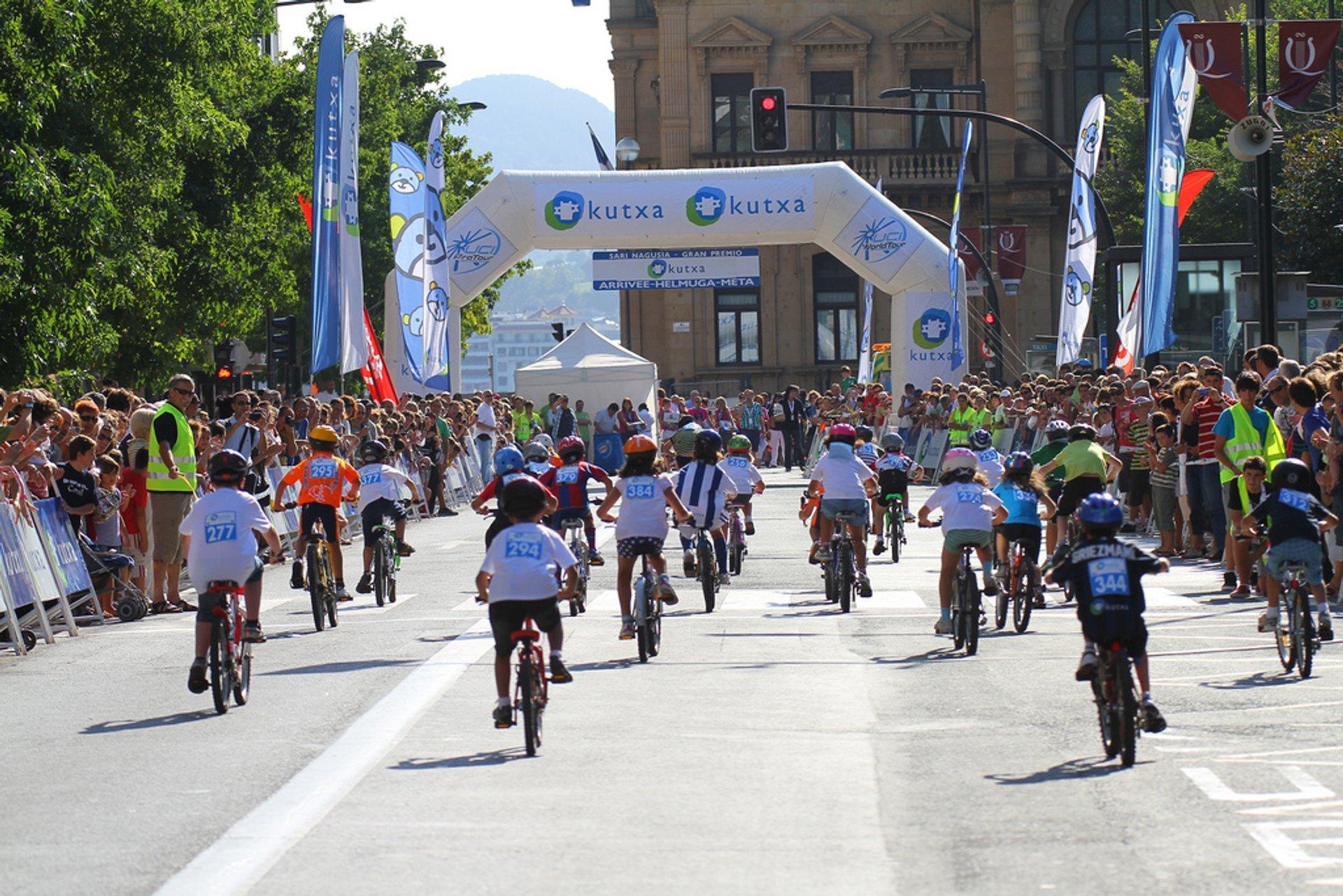Best time to see Great Week in San Sebastián in Basque Country