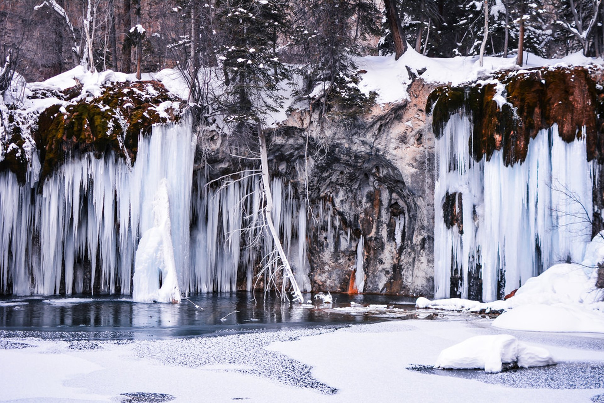 Frozen Waterfalls in Colorado 2019 - Best Time