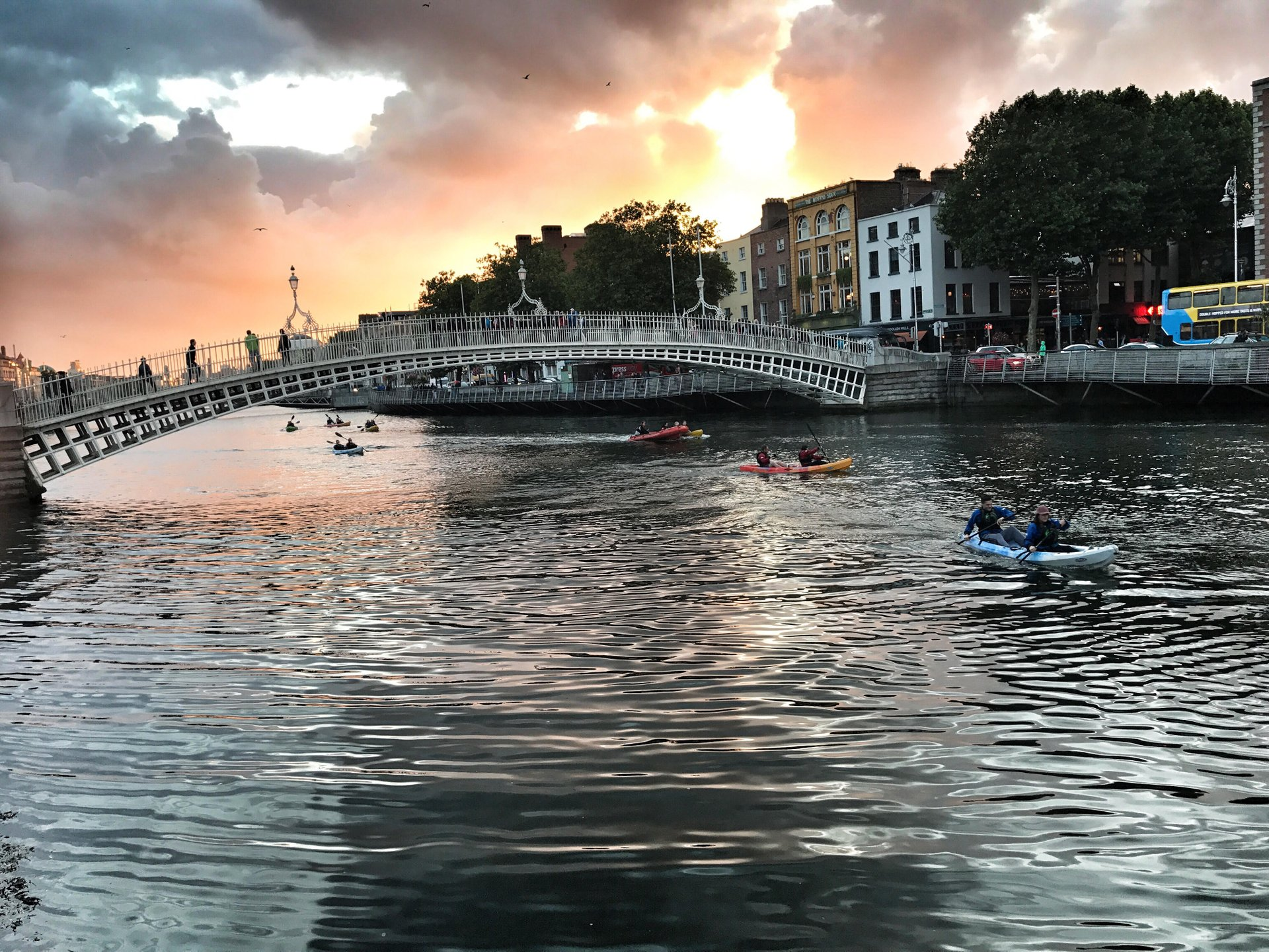 Best time for Kayaking in Dublin 2019