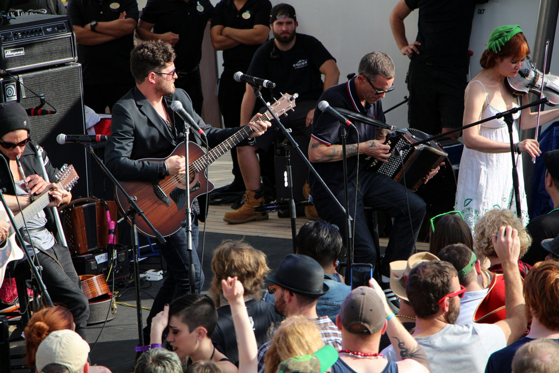 Best time for Flogging Molly's Salty Dog Cruise in Florida 2019