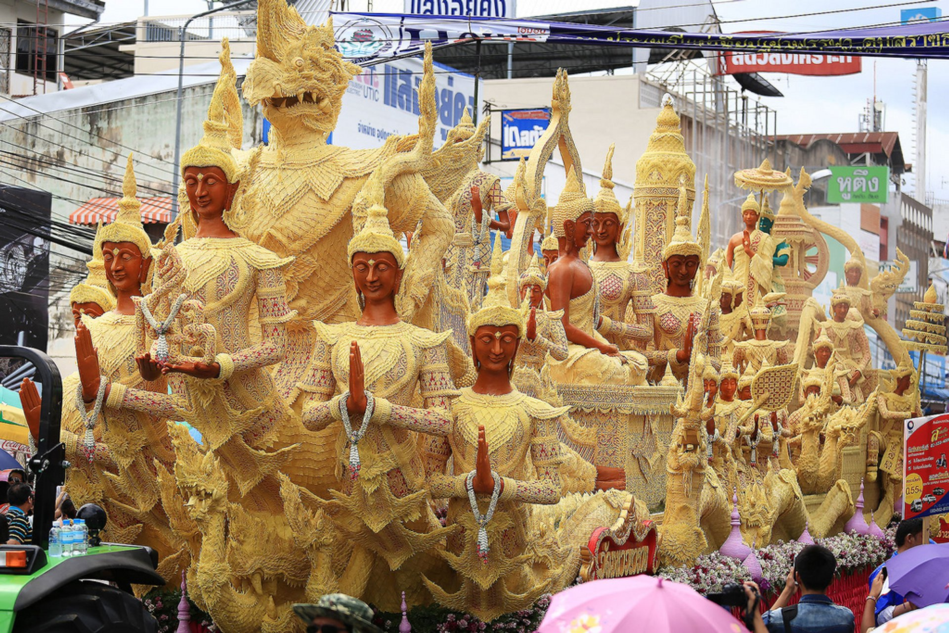Candle Festival in Ubon Ratchathani in Thailand - Best Season 2020