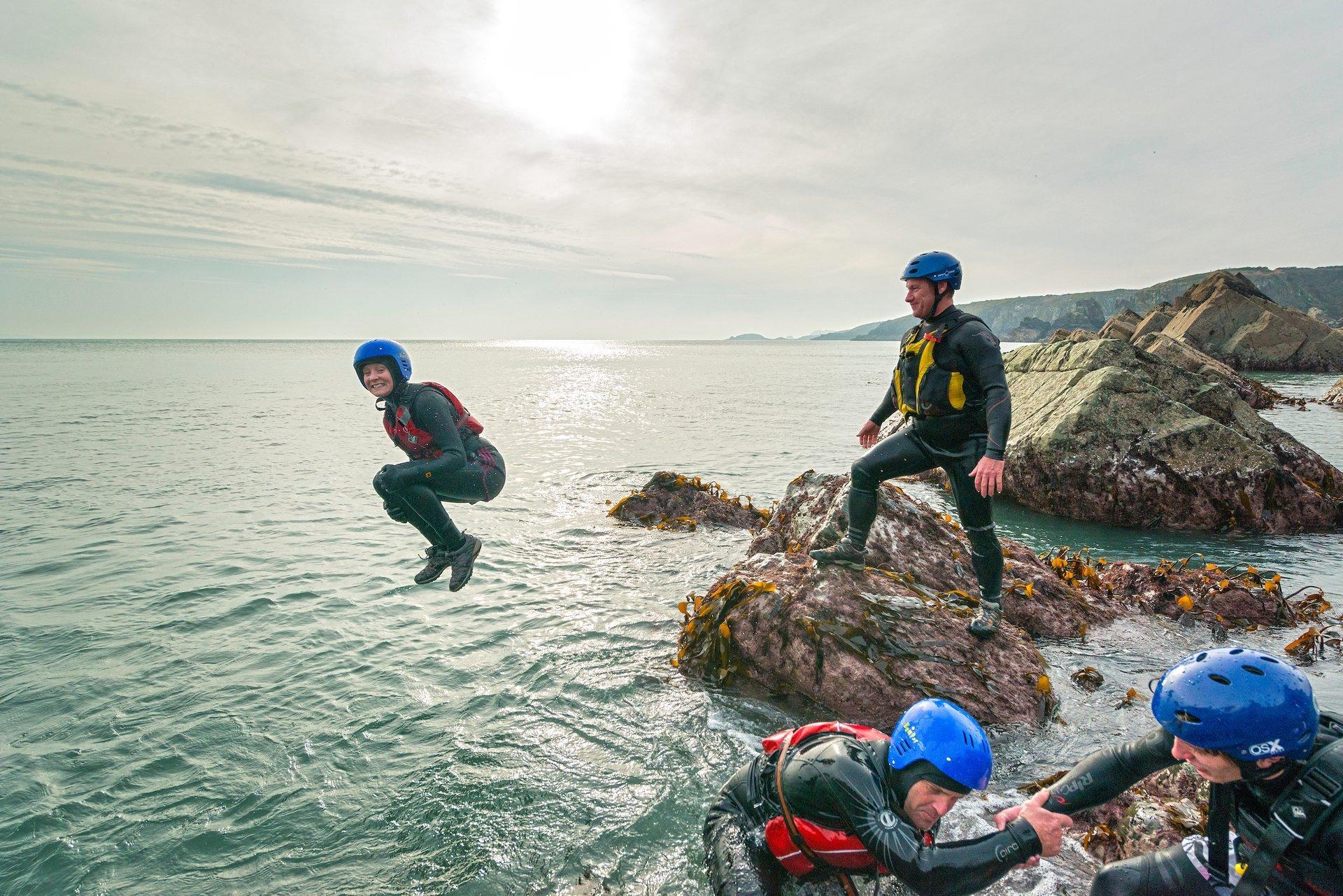 Coasteering in Wales 2019 - Best Time
