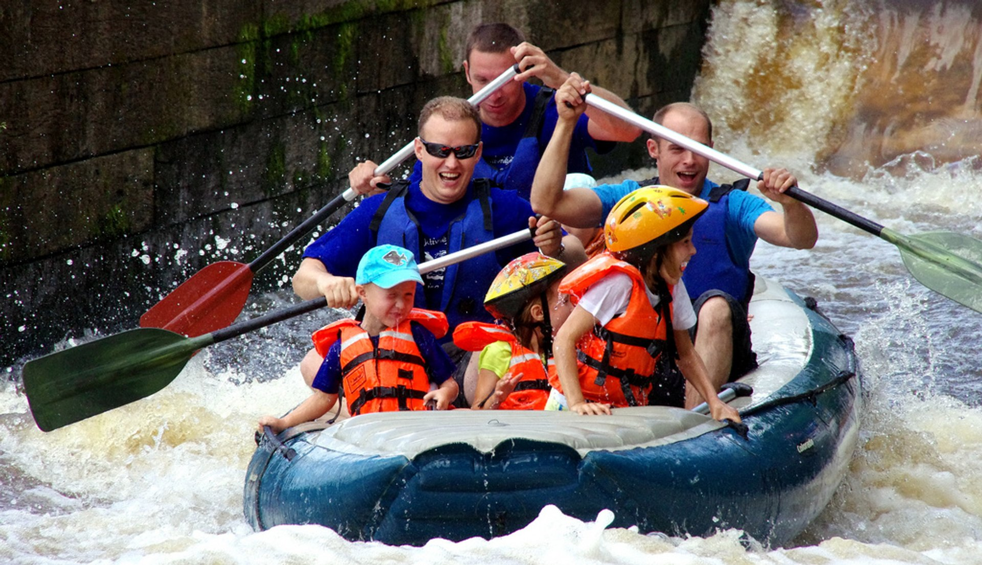 Rafting  in Czech Republic 2019 - Best Time