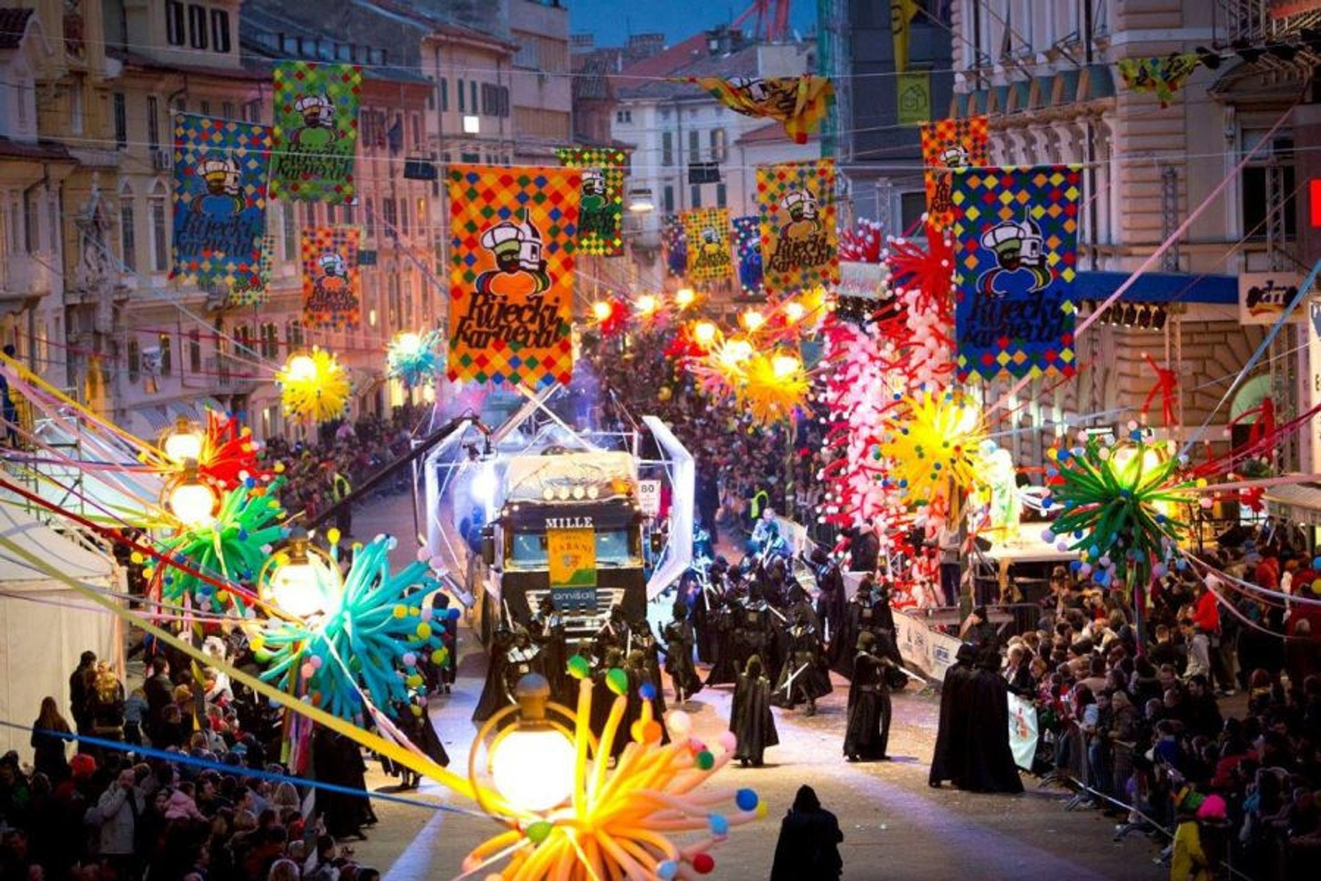 Best time to see Rijeka Carnival in Croatia